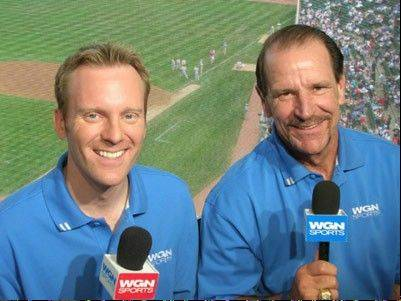 It may be several weeks or months before we learn who will call Cubs games next season with Len Kasper, left. Bob Brenly, right, is expected to get a similar job with Arizona.
