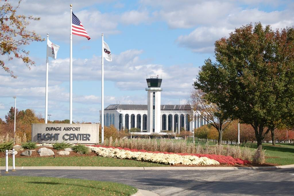 The DuPage Airport, located at 2700 International Drive in West Chicago, consistently ranks in the top 5 airports in Illinois and a recent independent economic impact study shows this general aviation facility brings broad economic benefit to DuPage County and the metropolitan area. The Airport was awarded a Brilliance in Business Award for Economic Development by the City of West Chicago.