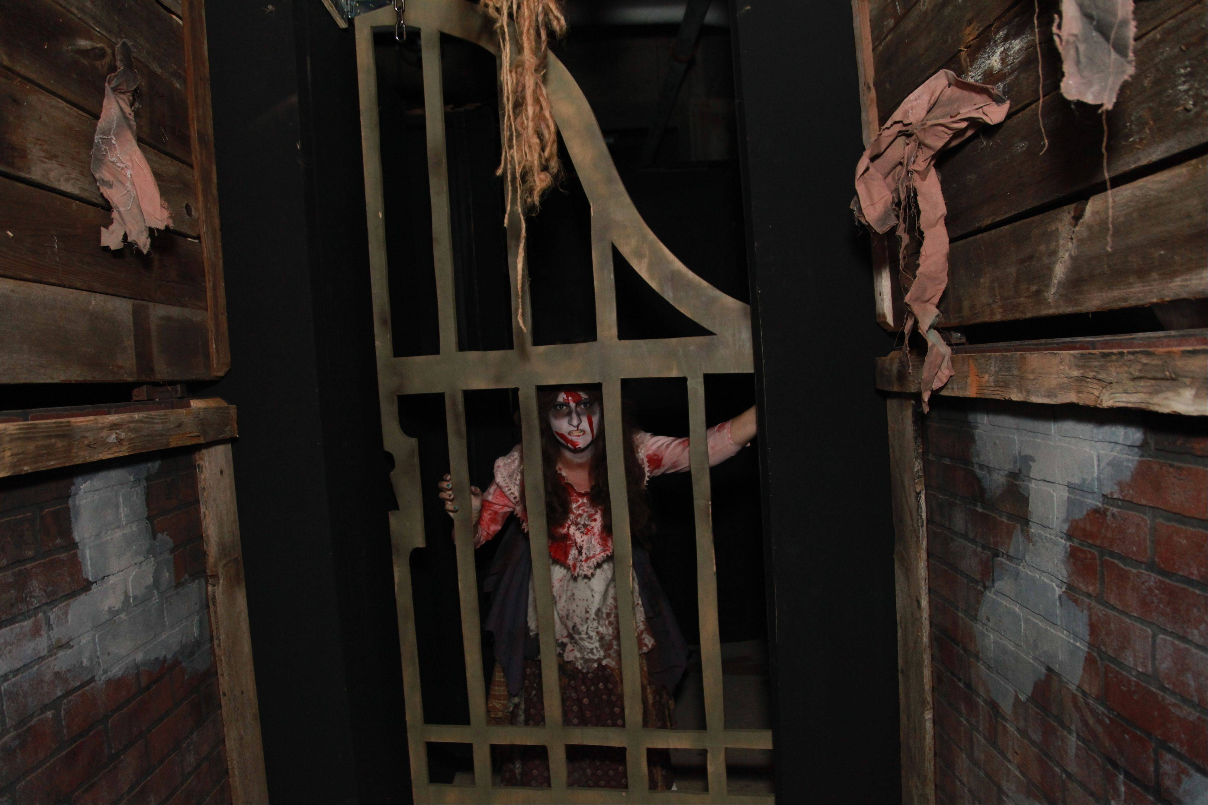 Expect plenty of simulated blood and gore at Rosemont's Screams in the Park haunted house.