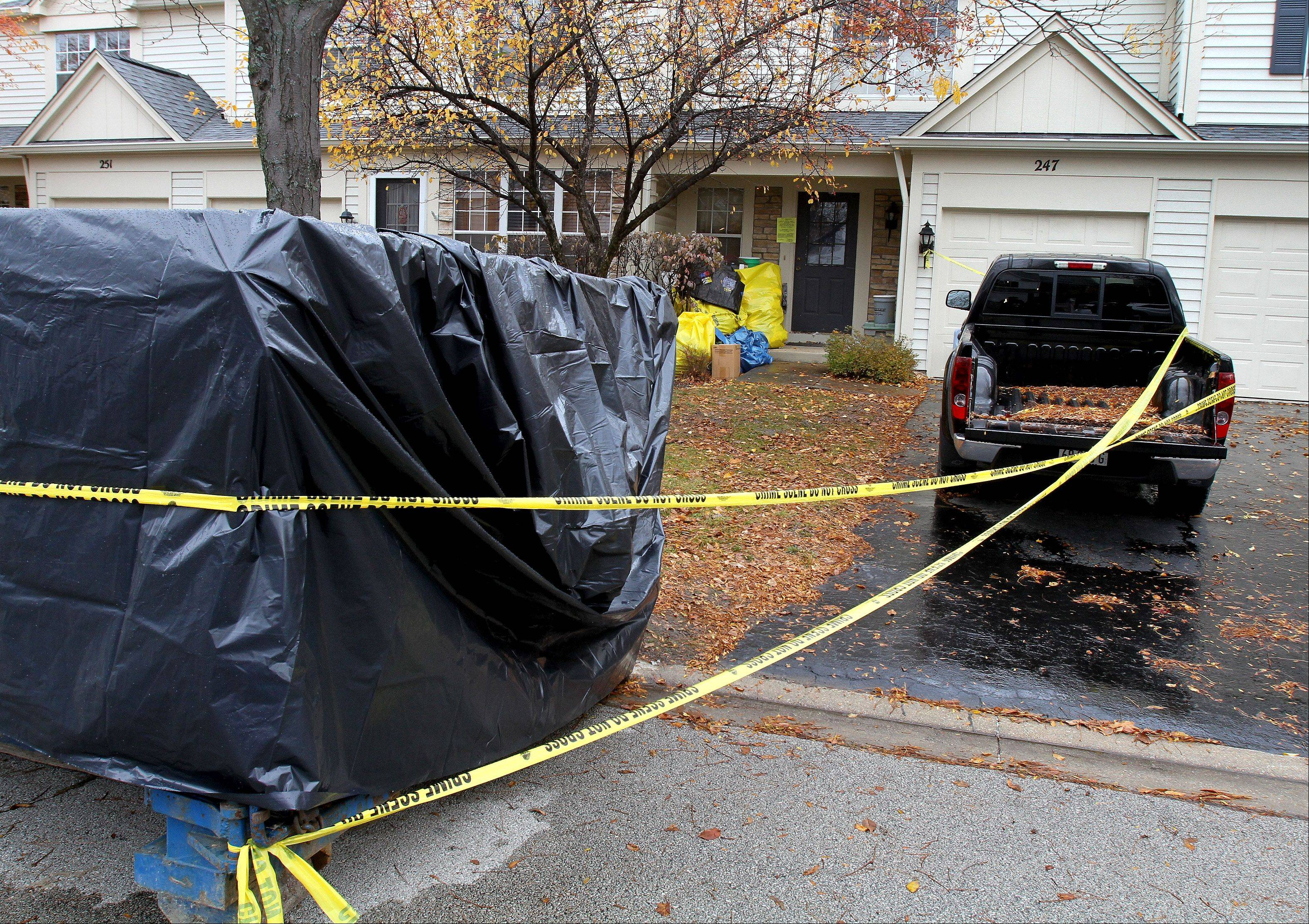 Aurora police, fire and animal control officials found dozens of birds, both dead and alive, and mounds of trash on Friday at a home on the 200 block of Shadybrook Lane in Aurora.