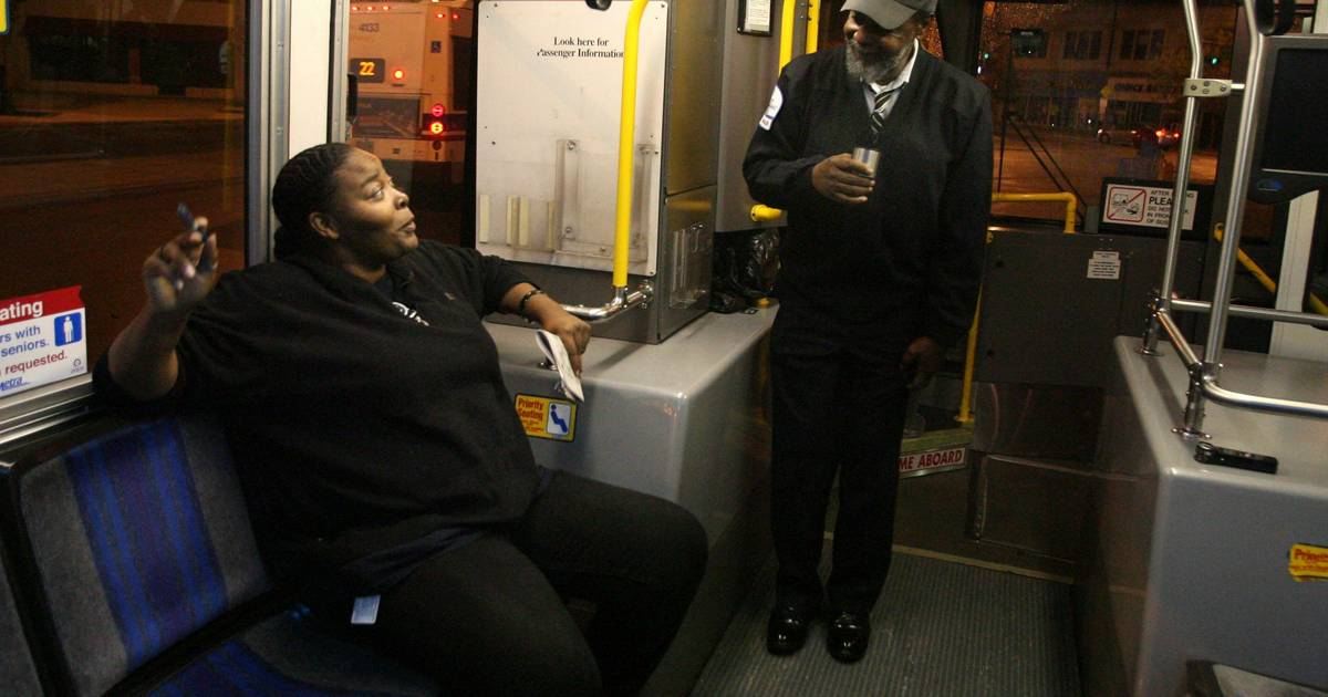 Moving Picture: Pace driver lifts passengers' spirits