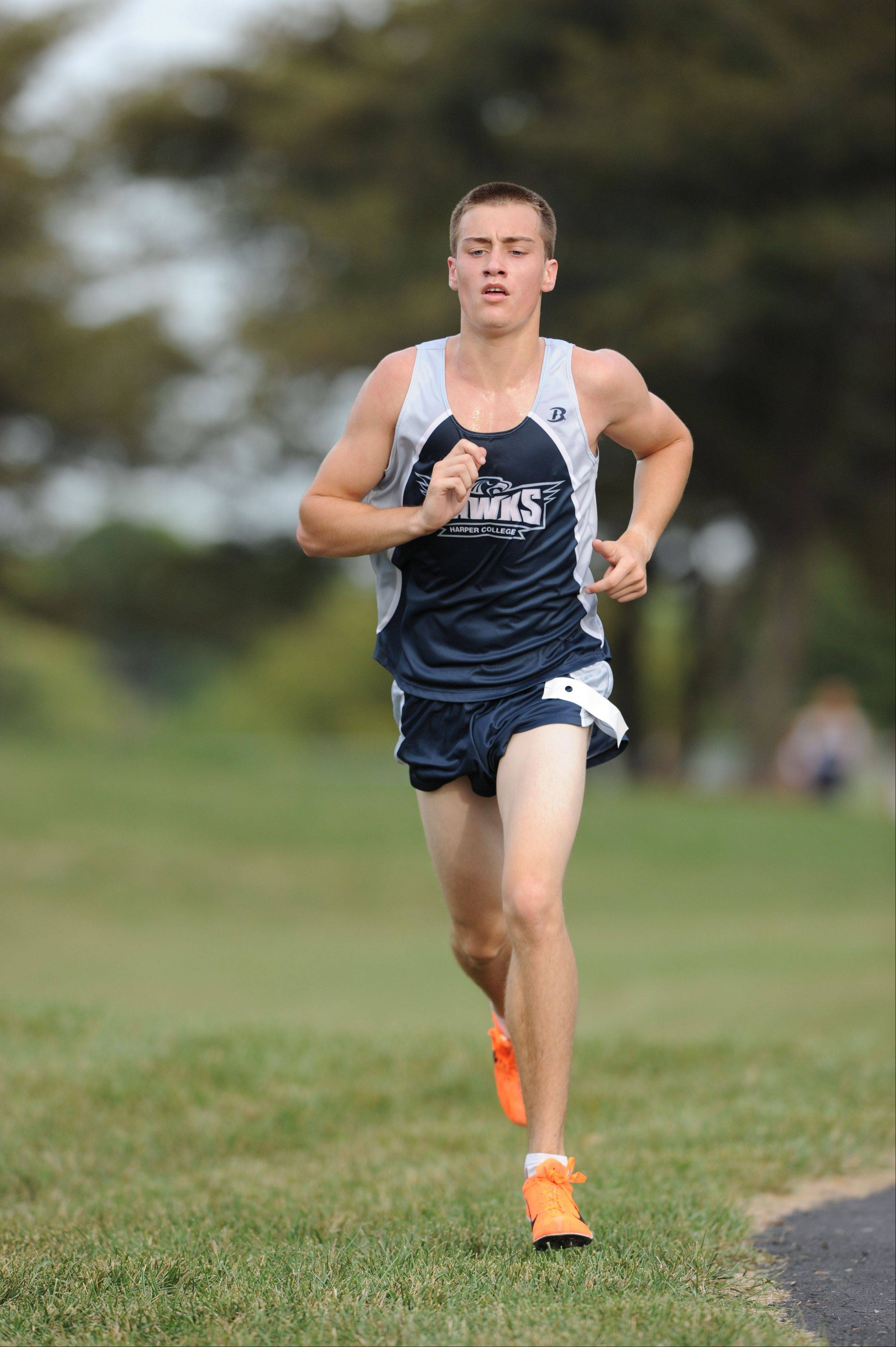 Harper cross country standout Troy Cunningham