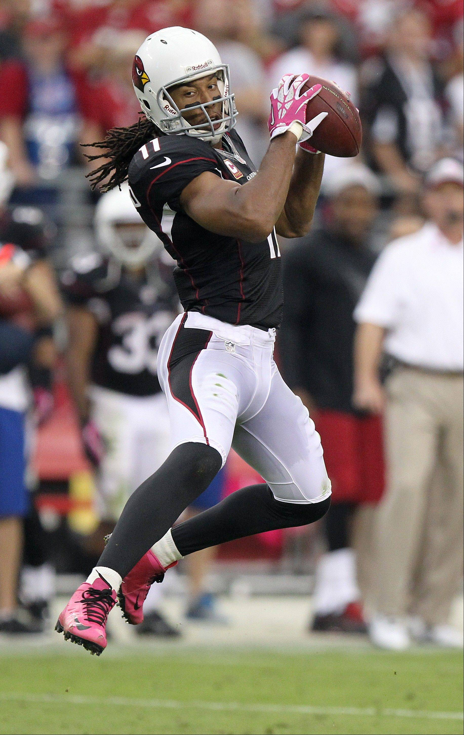 Larry Fitzgerald has just 1 TD catch thus far on the season.