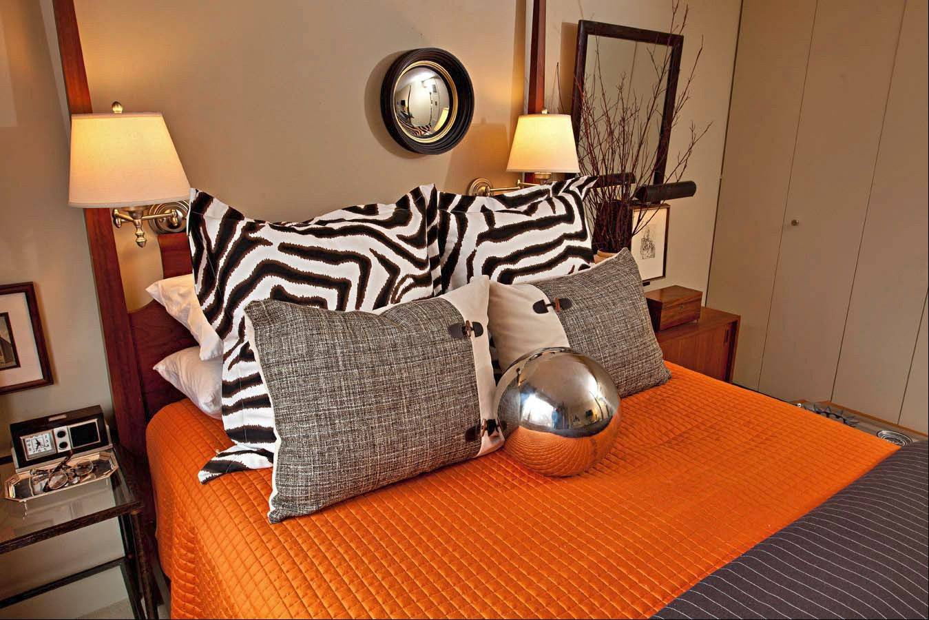 If you know you want to have lots of pillows on your bed, be sure to get a headboard that can visually support them.
