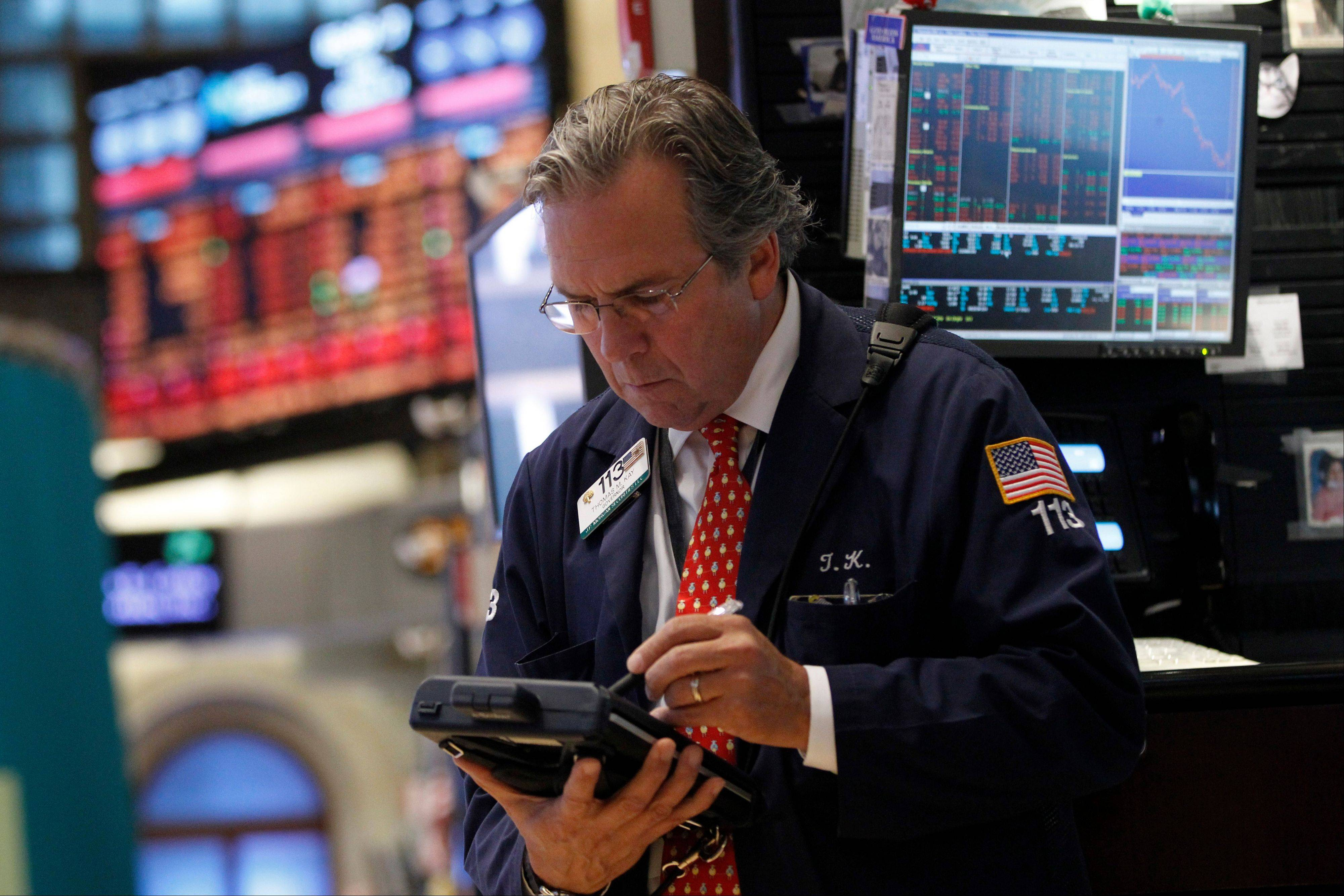On Friday, the Dow Jones industrial average fell more than 200 points for its worst day in four months.