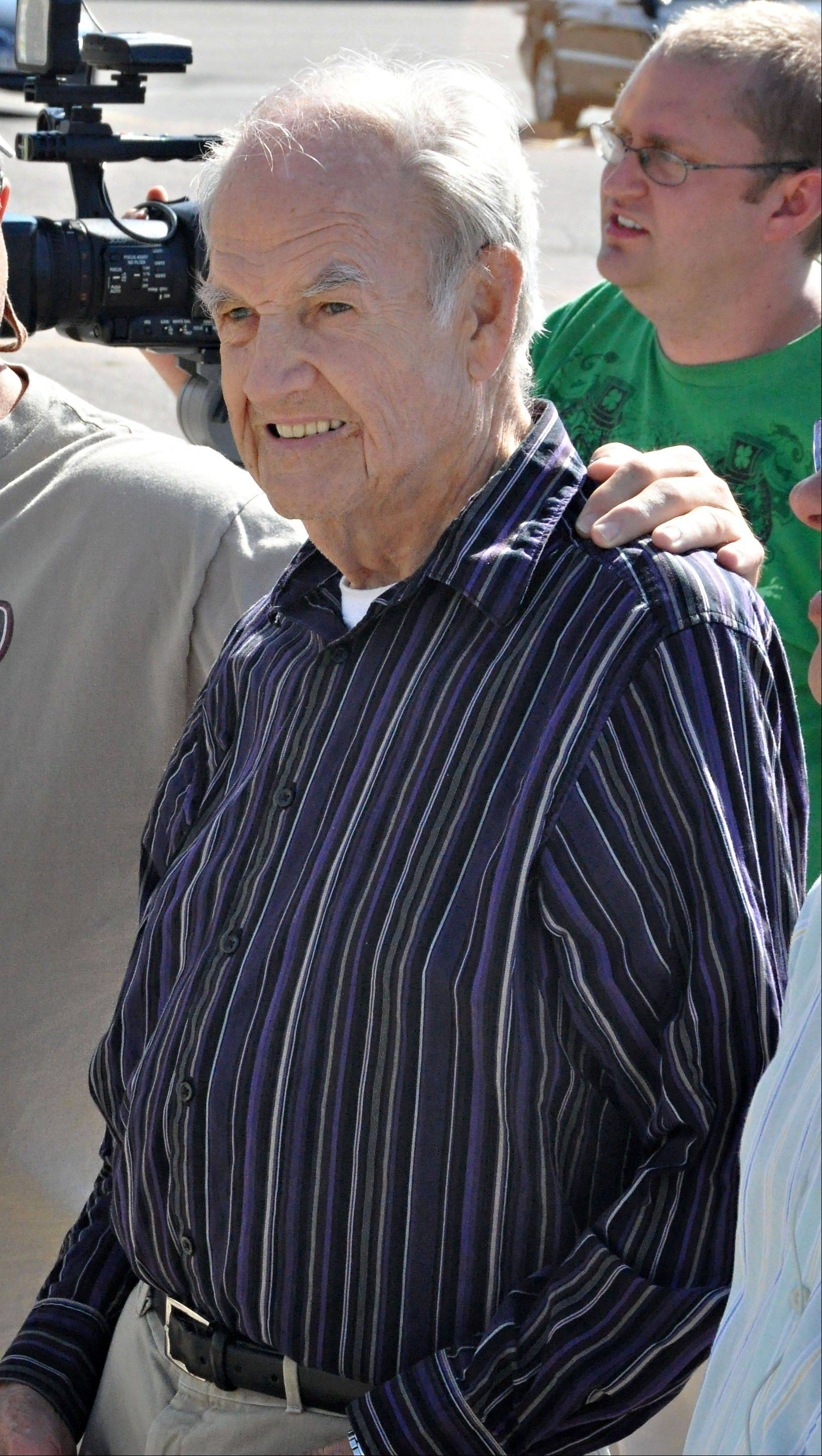 Associated Press File Photo, Sept 2012 Former Sen. George McGovern, 90, in Sioux Falls, S.D. A family spokesman says, McGovern, the Democrat who lost to President Richard Nixon in 1972 in a historic landslide, has died at the age of 90.