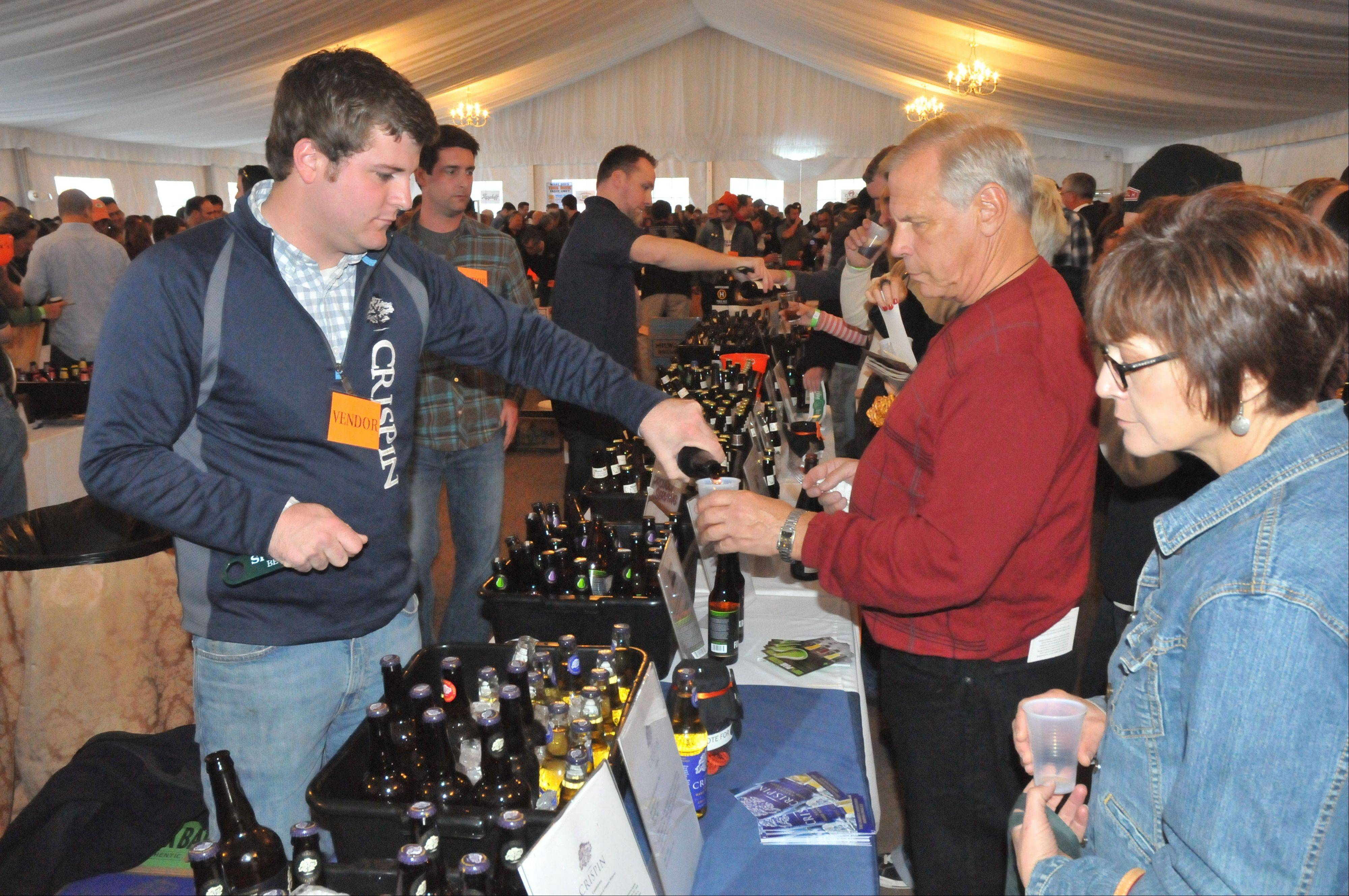 Sample all kinds of beers at the Lake Geneva Beer & Spirits Festival held at the Grand Geneva Resort.