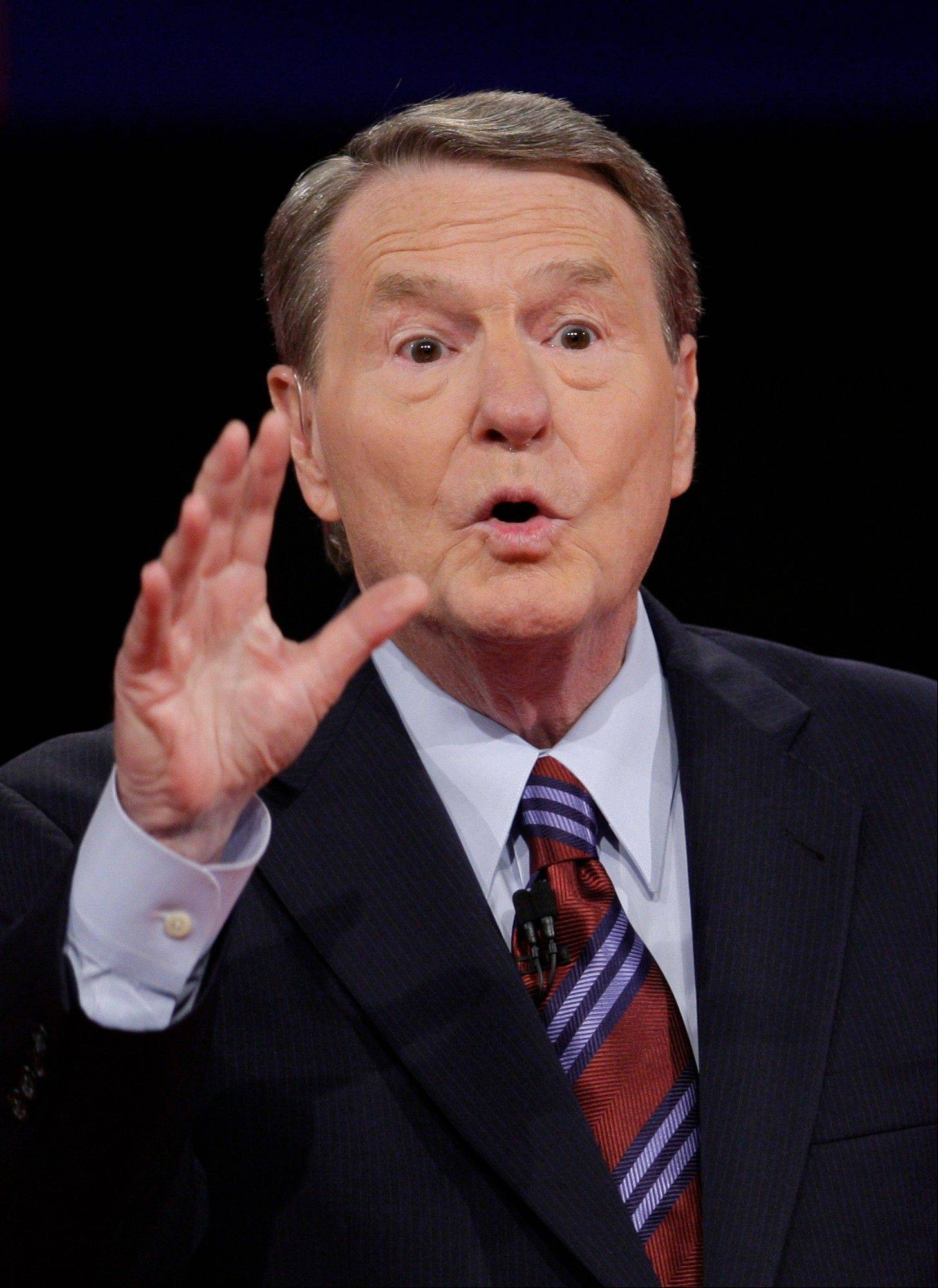Jim Lehrer, who moderated the first presidential debate, was criticized for not keeping the two candidates on topic and following the rules of the debate.