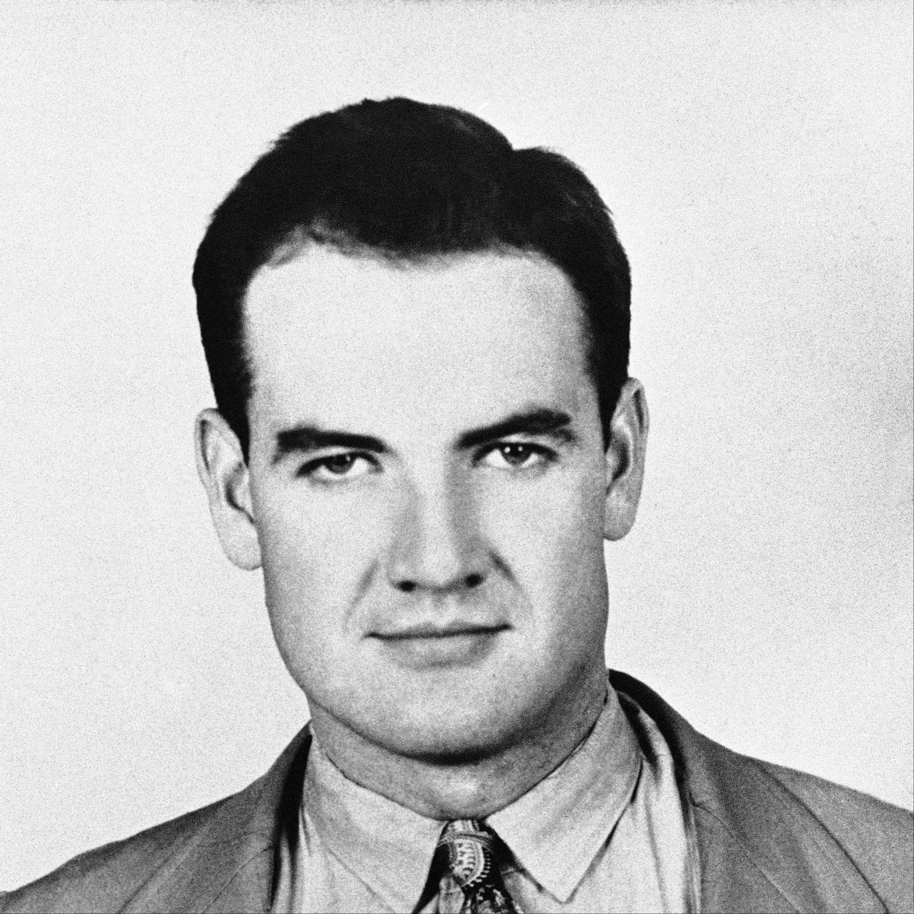 George McGovern in high school, 1939.