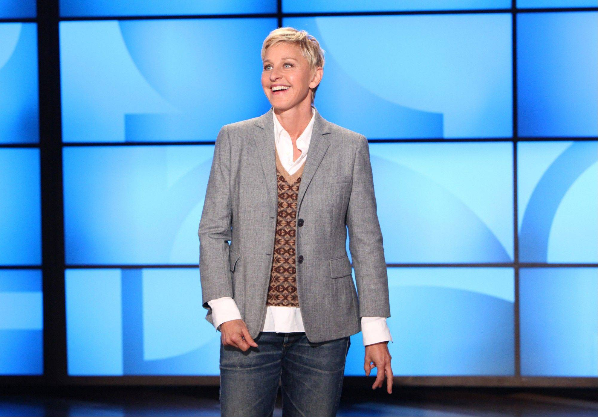 The Kennedy Center in Washington is awarding Ellen DeGeneres the Mark Twain Prize for American Humor on Monday. The show will be broadcast on PBS stations Oct. 30.