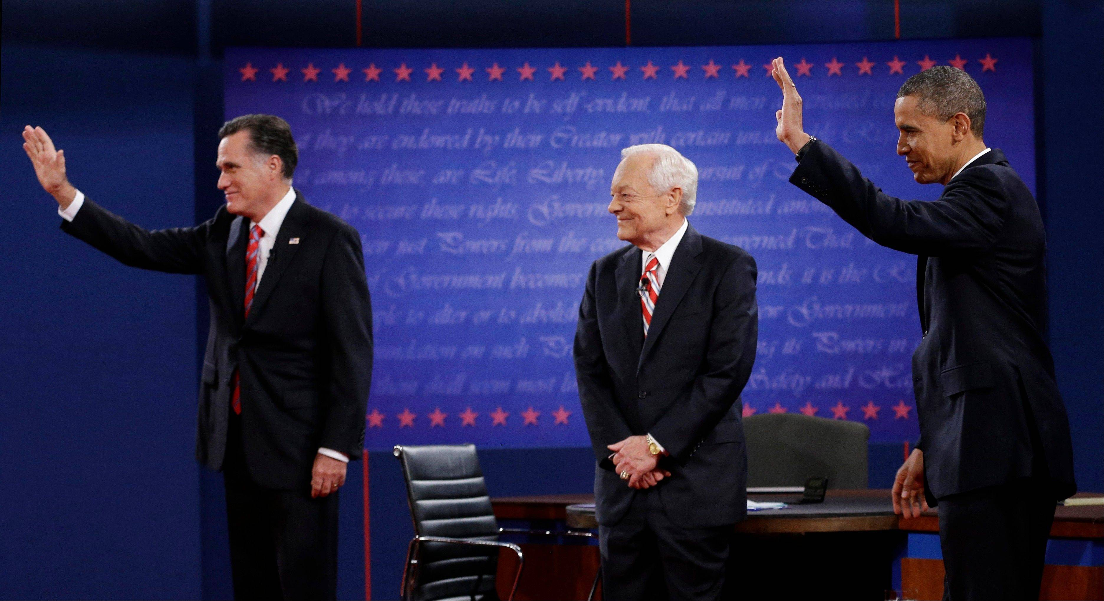 Images: The final presidential debate