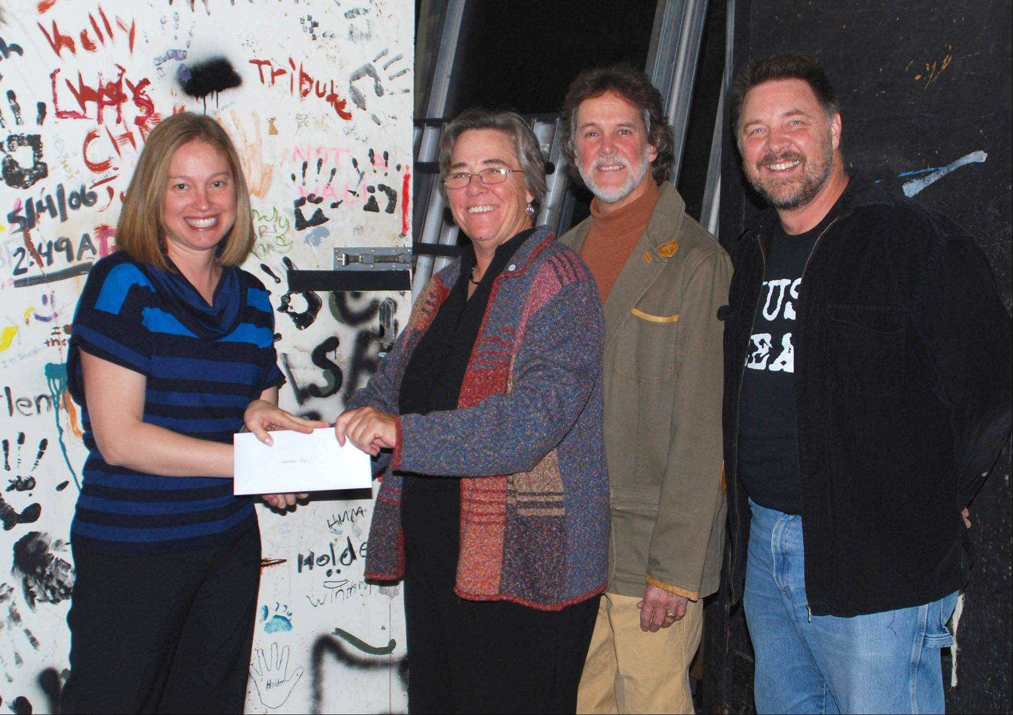 Mundelein High School�s theater program has received a $500 grant from a local theater group.