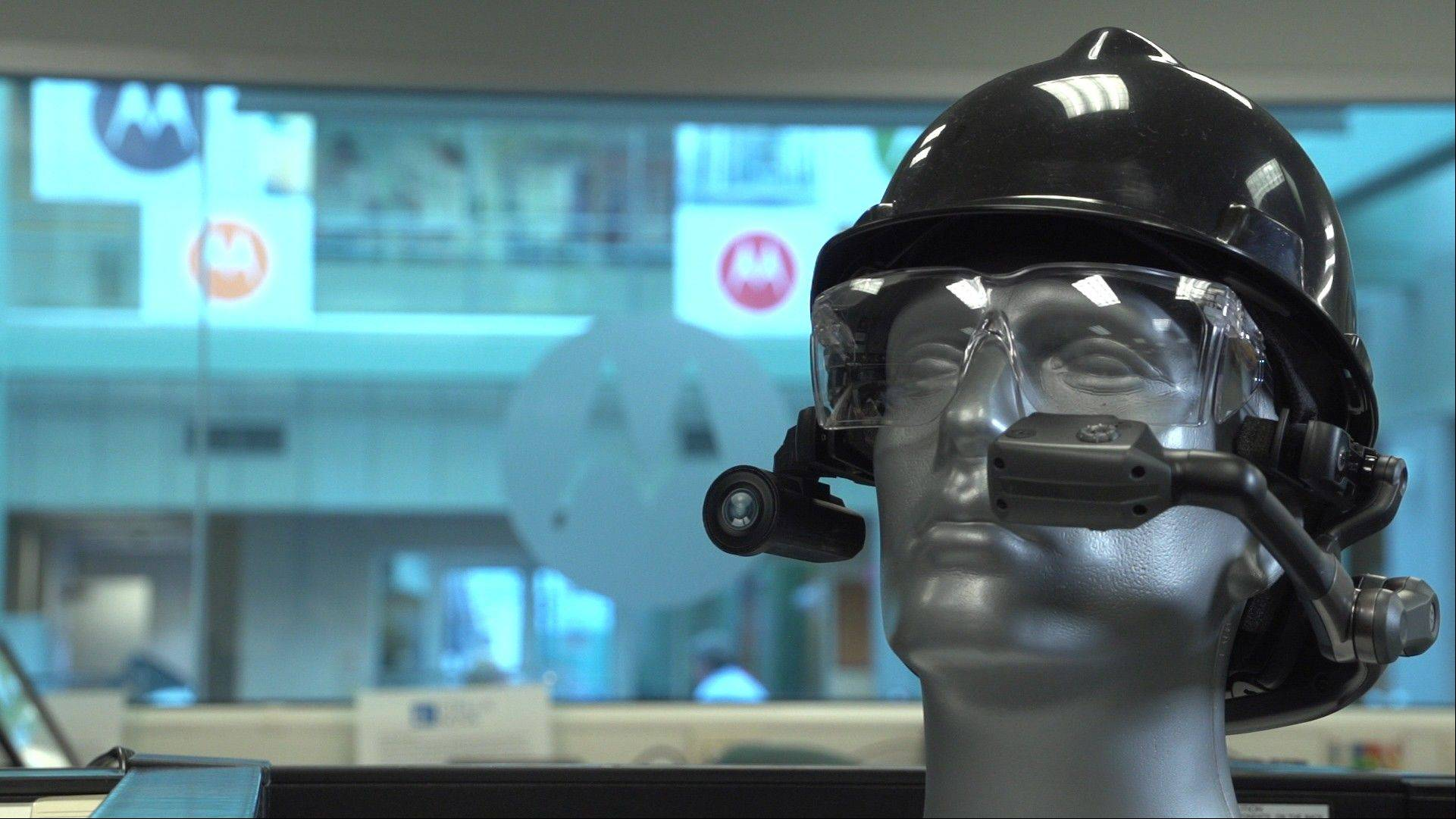 Schaumburg-based Motorola Solutions debuts the HC1, a wearable computer in the form of a headset that takes voice commands for business and government workers. It could sell for $4,000 to $5,000.