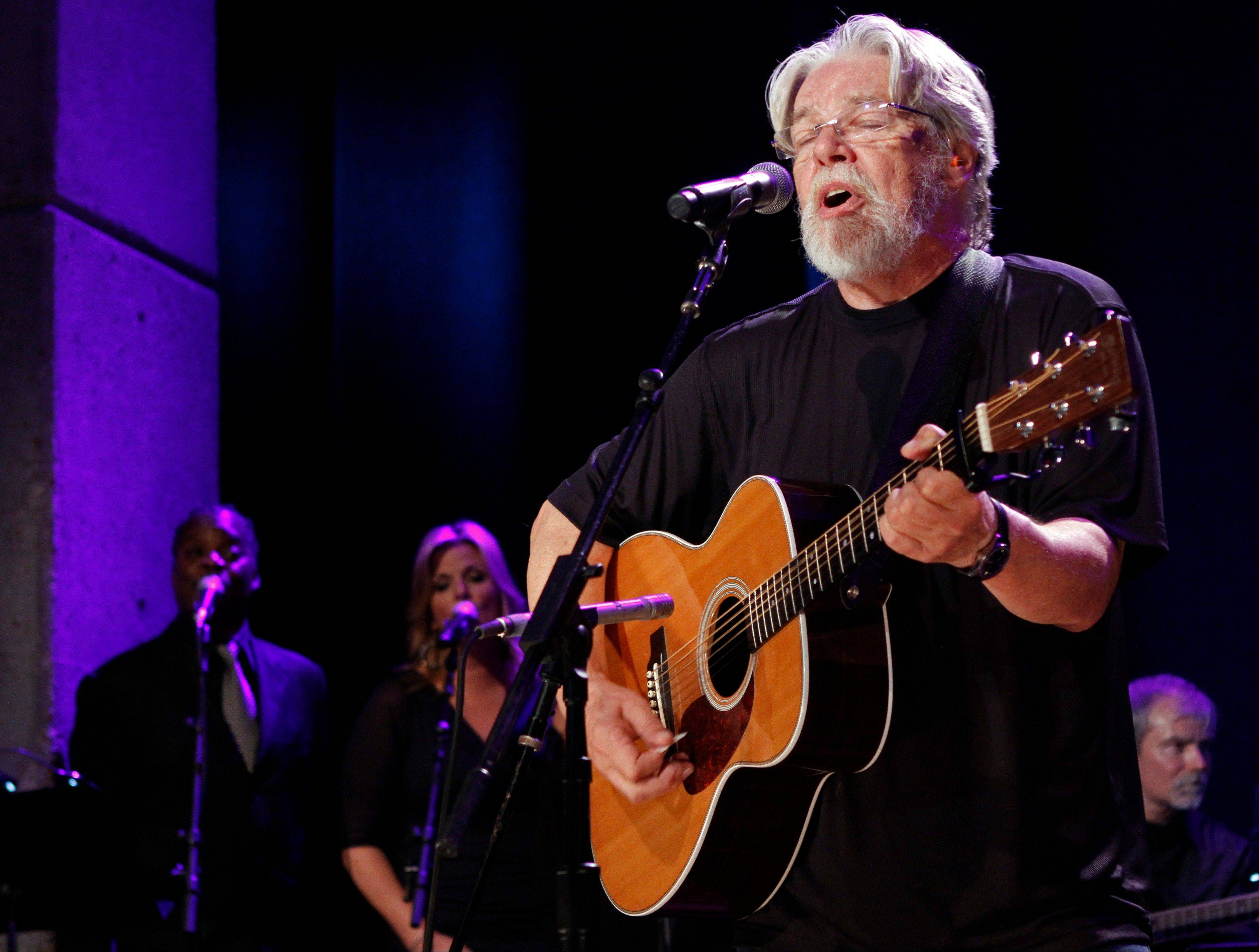 Bob Seger performs at the Country Music Hall of Fame Inductions in Nashville, Tenn.