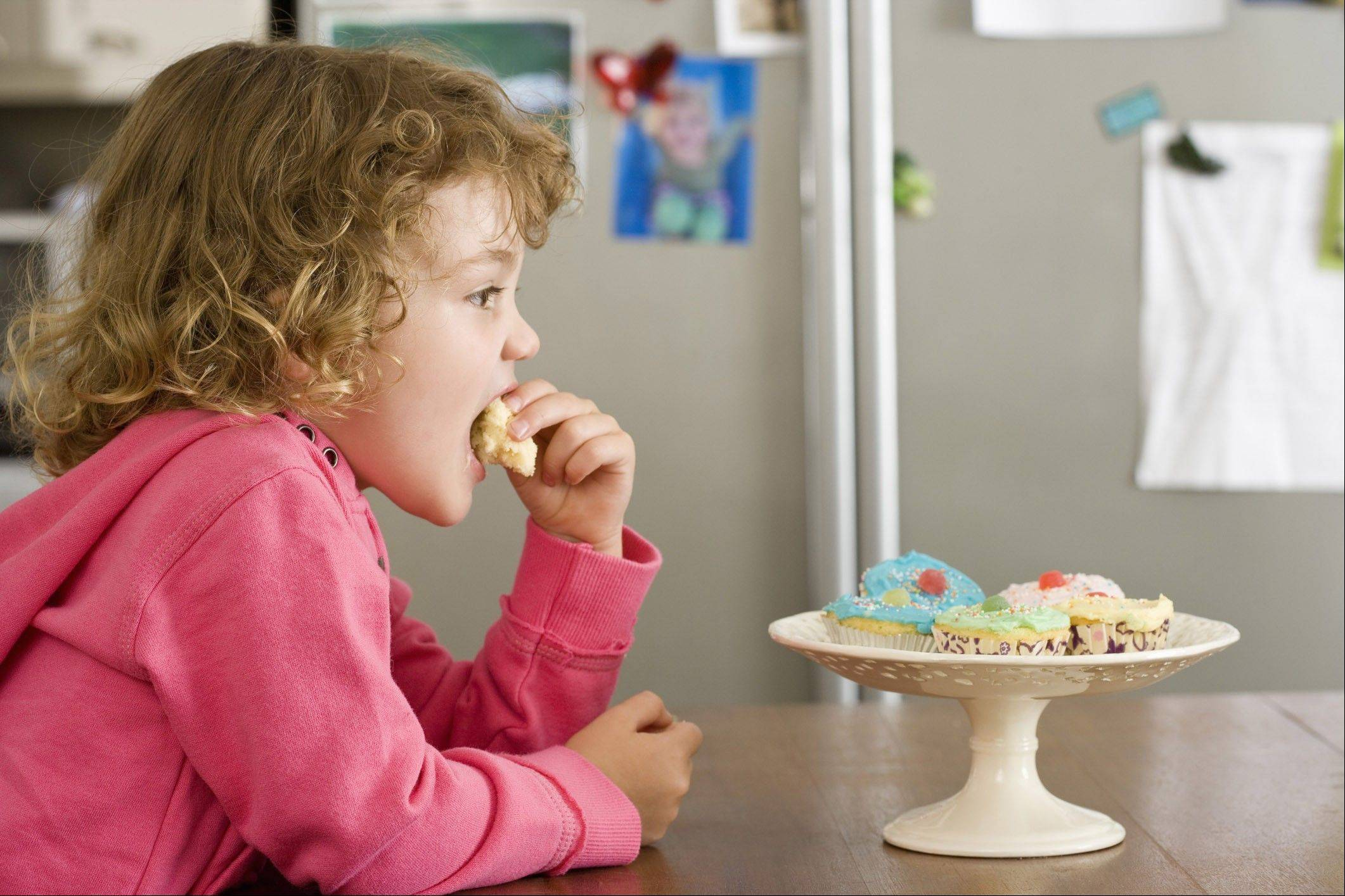 Some children may be more susceptible to sugar addictions than others. It also depends on their age.