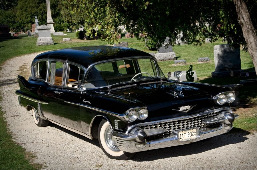 Pulling double shifts, this 1958 Cadillac still a working stiff