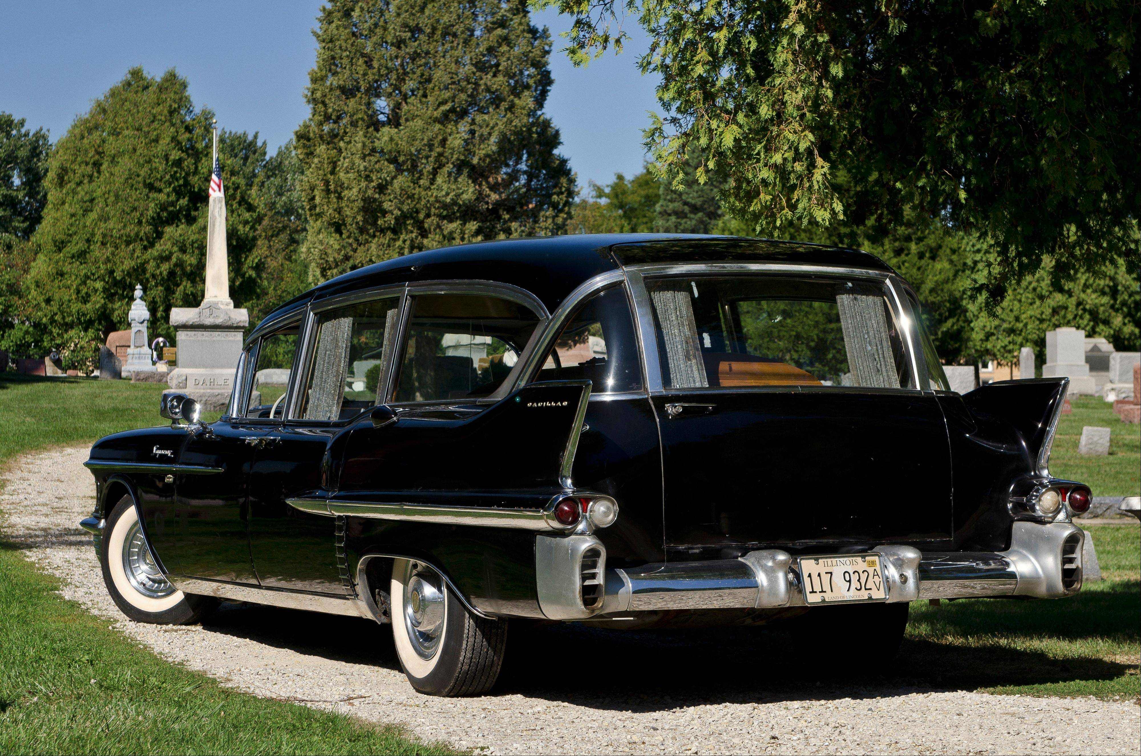 The 1958 Cadillac Series 86 commercial chassis could be modified into a hearse or ambulance -- or both -- by Ohio-based Superior Coach.