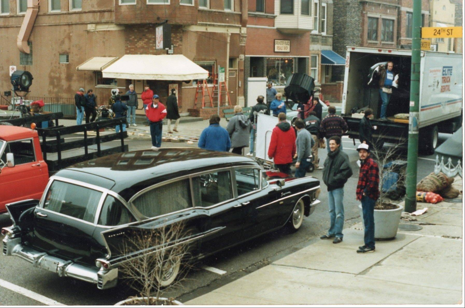 The Ahlgrim's Cadillac has been in both a movie and TV show filmed in Chicago.