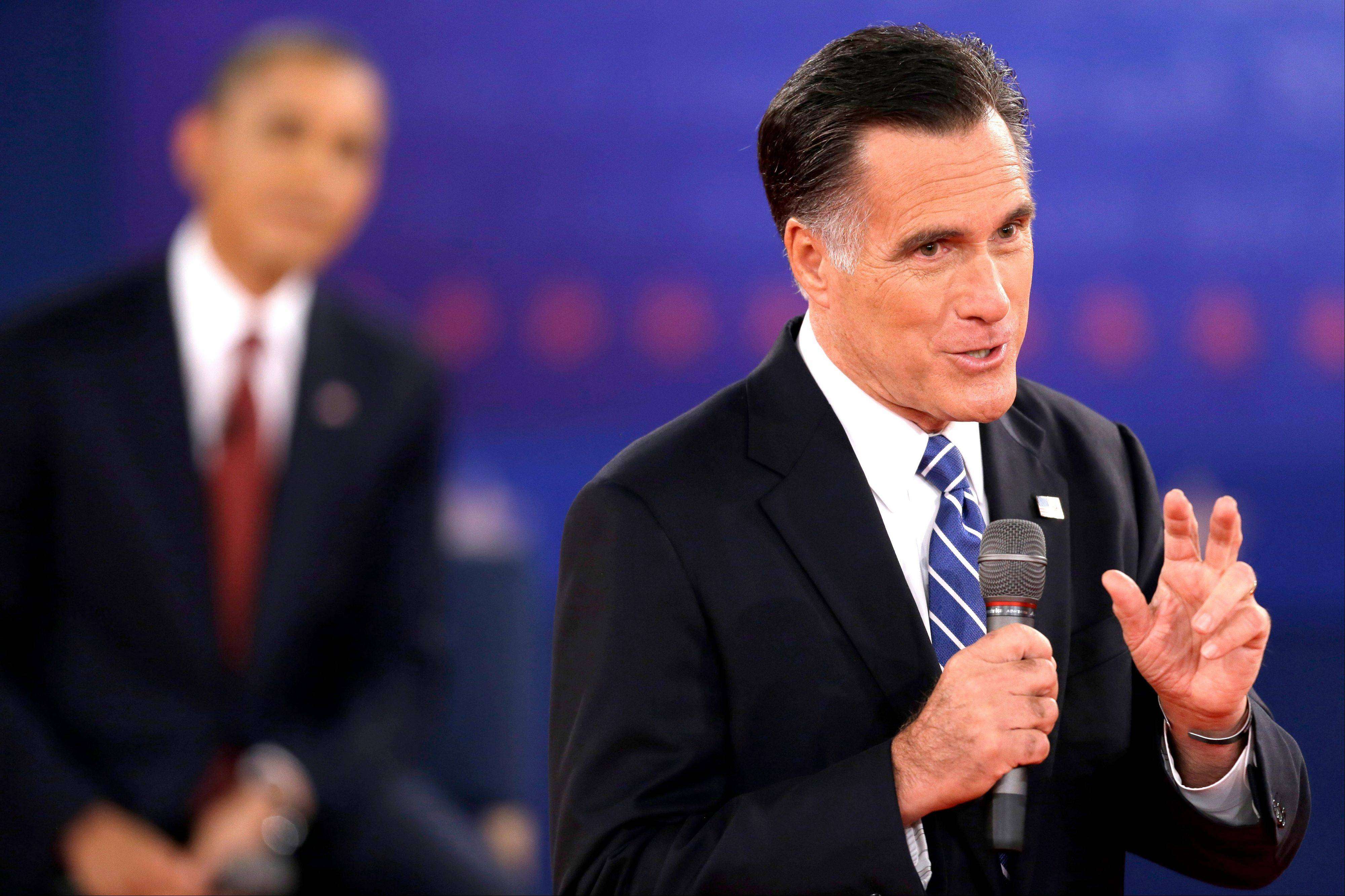 Still neck-and-neck after all these months, Barack Obama and Mitt Romney head into their third and final debate with each man eager to project an aura of personal strength and leadership while raising doubts about the steadiness and foreign policy credentials of the other guy.