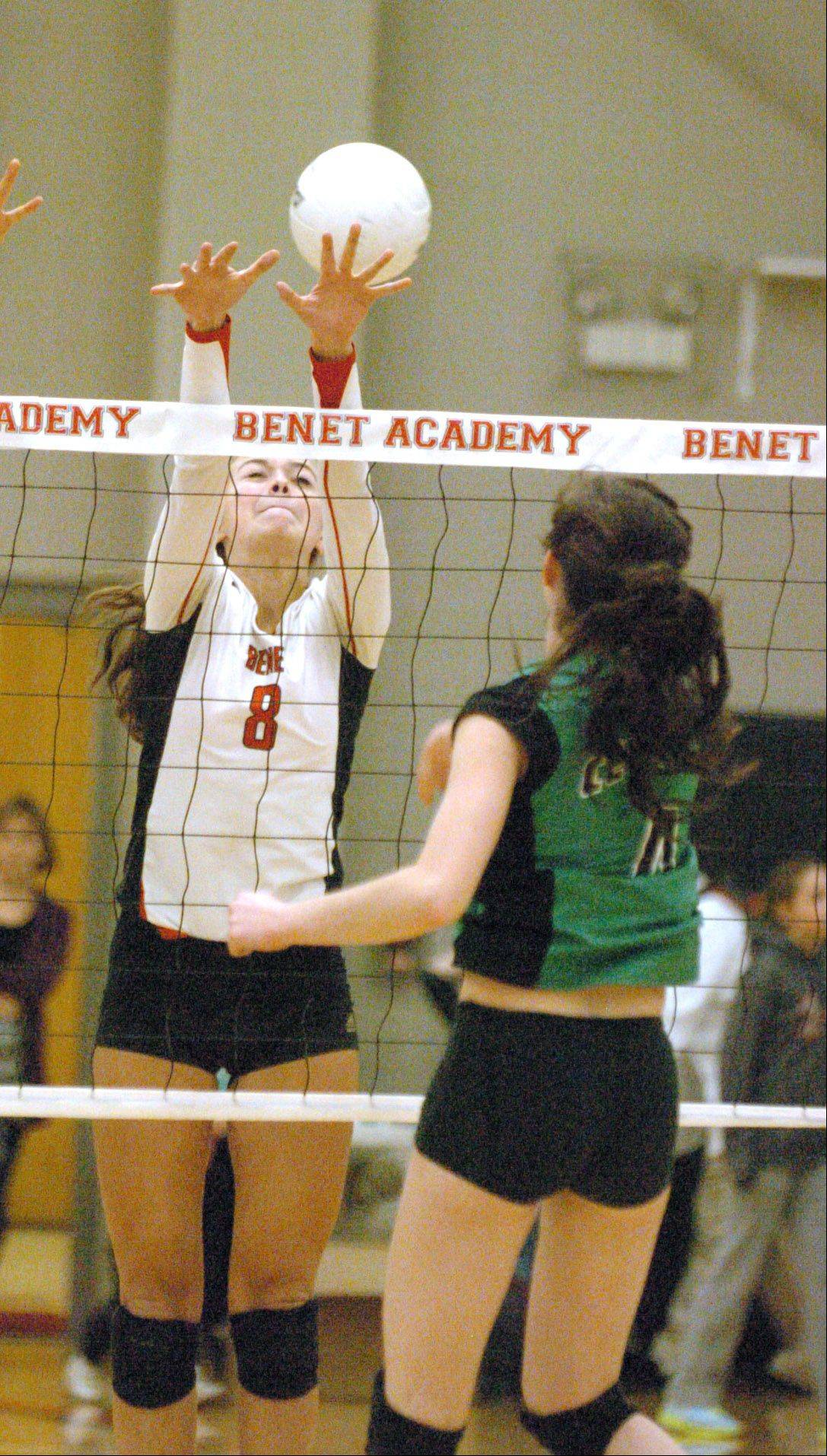 Benet's Nicki Barnes committed last the weekend to play at Marquette next season.