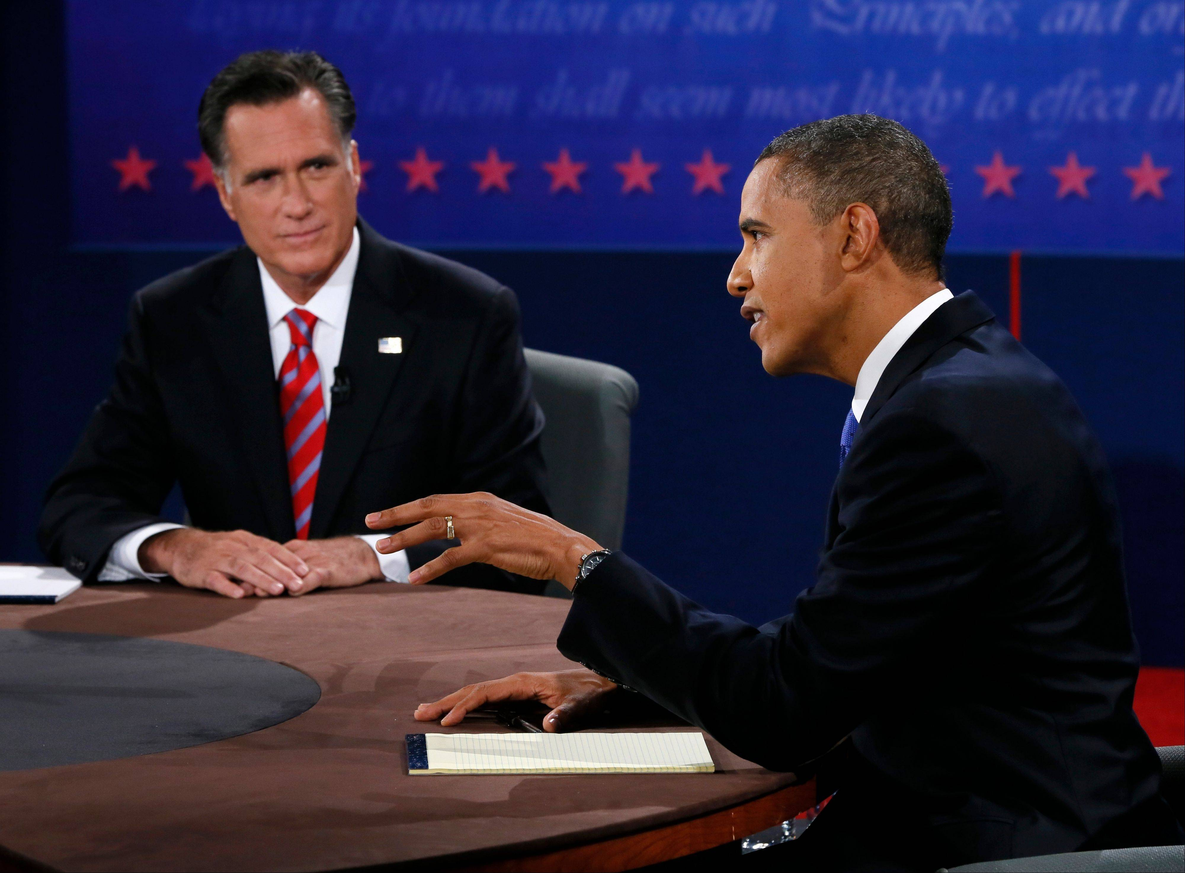 Final debate: Challenging each other face-to-face