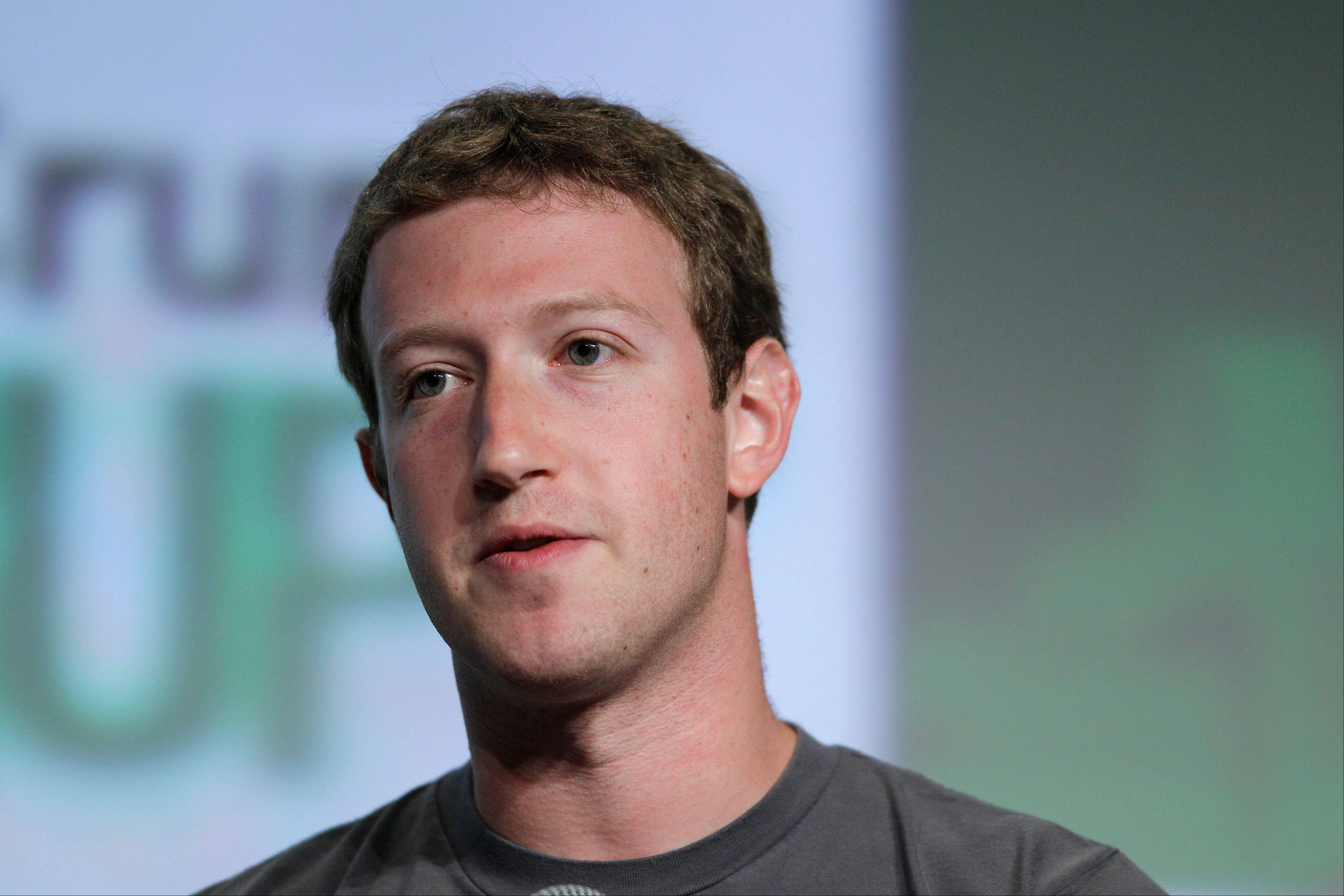 Facebook CEO Mark Zuckerberg, seen at a �fireside chat� on Sept. 11, has been pressured since the company went public earlier this year to generate more revenue.