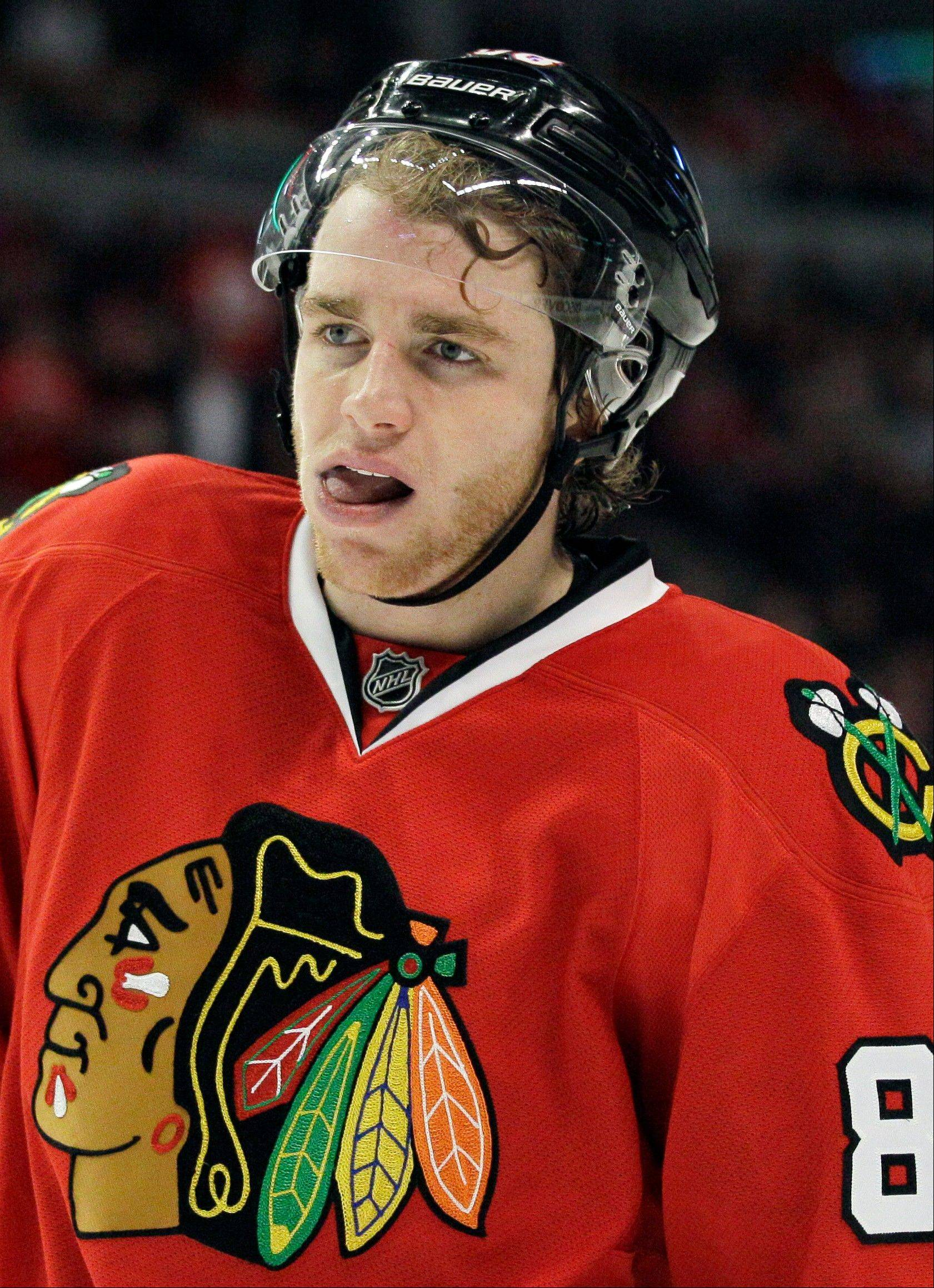 Associated Press After playing in a charity game on Friday at Allstate Arena, Blackhawks forward Patrick Kane will leave this weekend to play for a club in Switzerland while the NHL lockout continues.