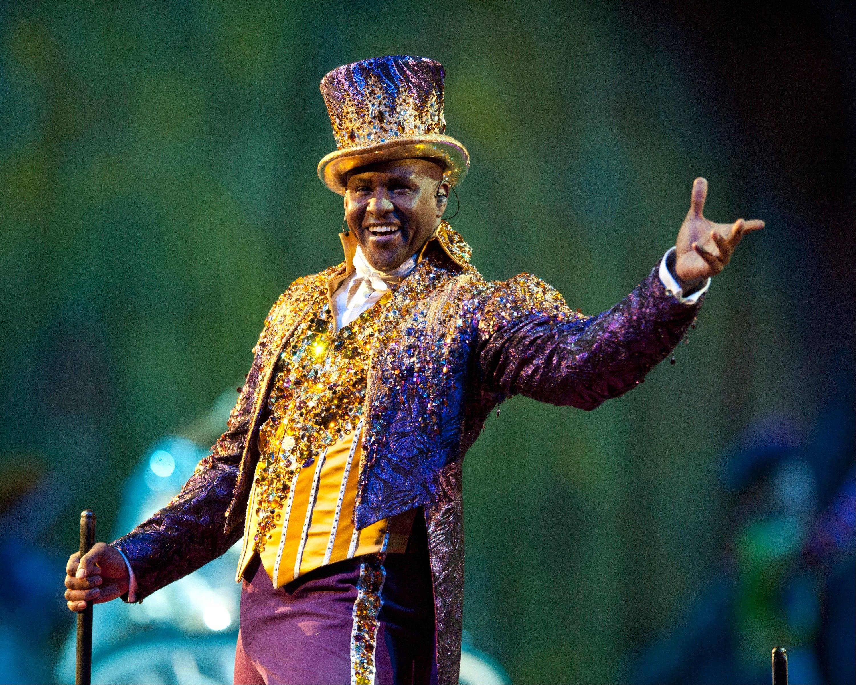 "Jonathon Lee is the ringmaster in ""Dragons,"" the latest show from Ringling Brothers and Barnum & Bailey Circus coming to the Allstate Arena in Rosemont and the United Center in Chicago."