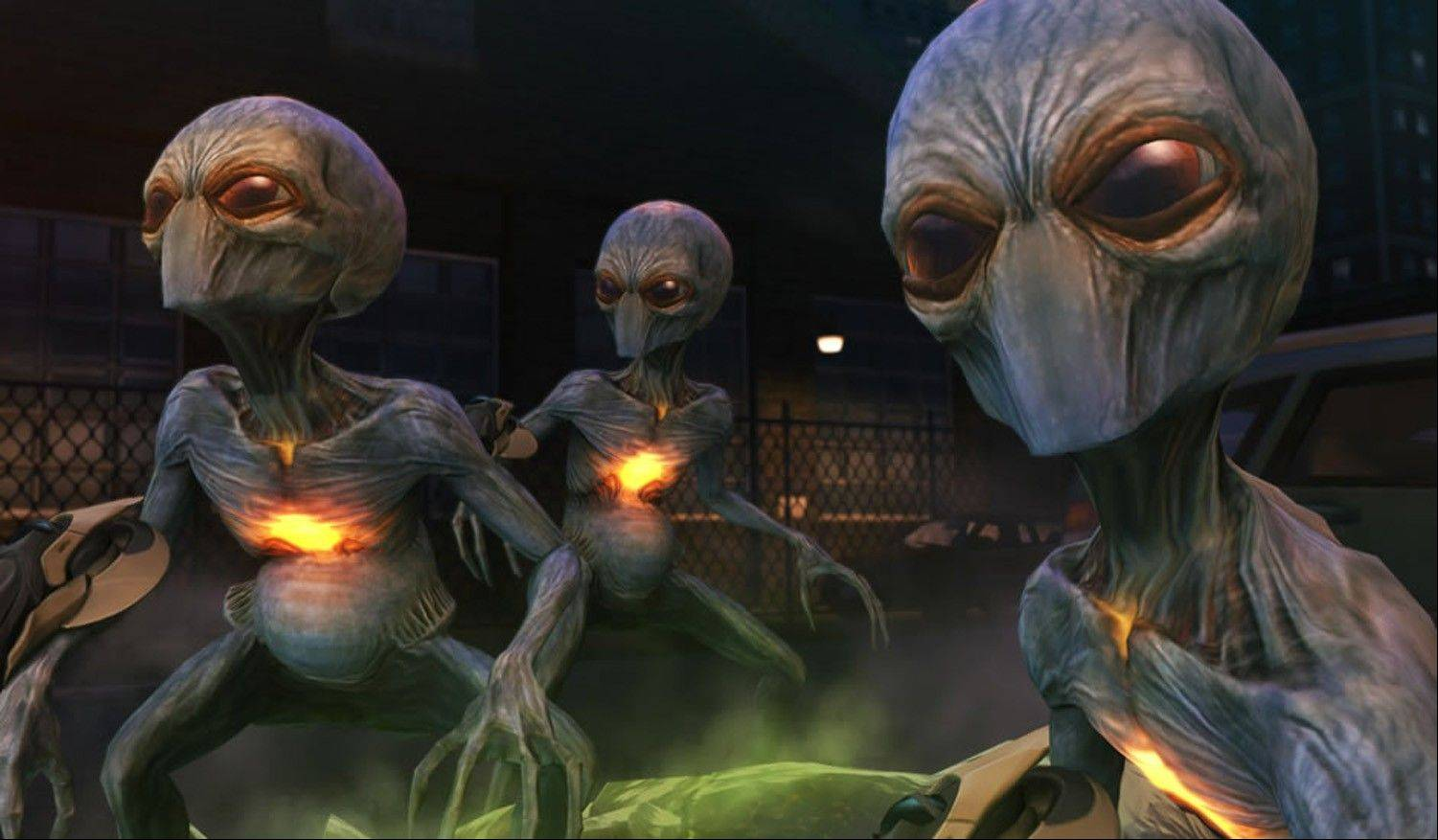 "Extraterrestrial invaders take over ""XCOM: Enemy Unknown."""