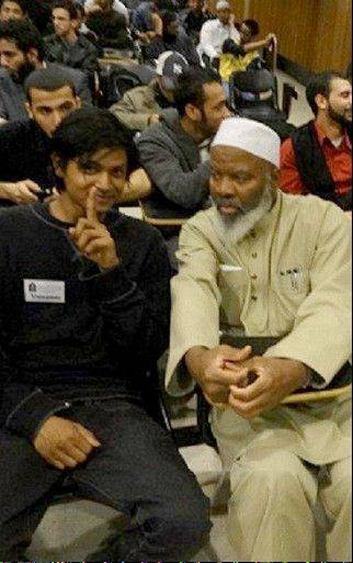 "Shamiur Rahman, left, a 19-year-old American of Bengali descent who has now denounced his work, was a paid informant for the New York Police Department's intelligence unit was under orders to ""bait"" Muslims into saying bad things as he lived a double life, snapping pictures inside mosques and collecting the names of innocent people attending study groups on Islam, he told The Associated Press."
