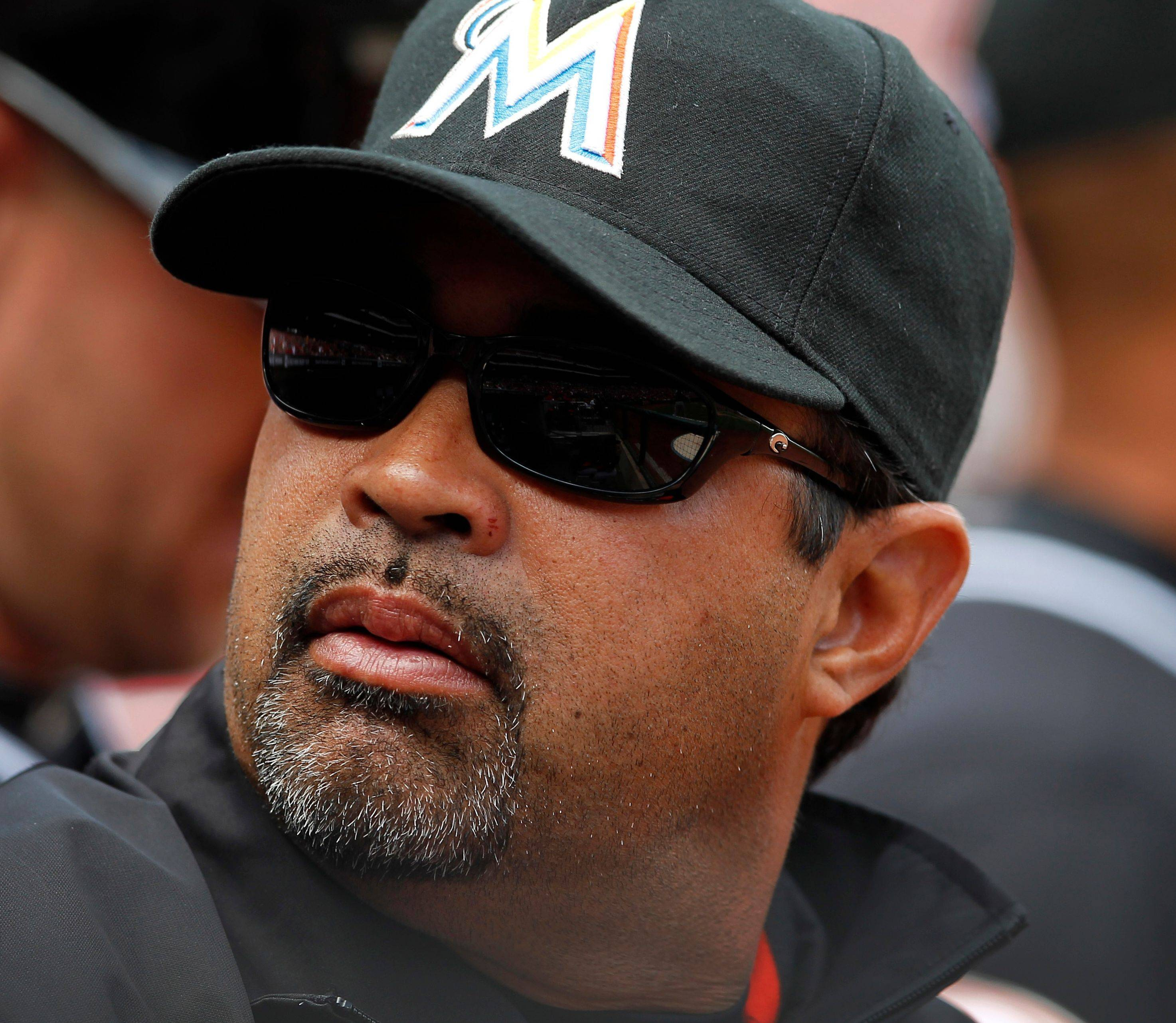 Ozzie Guillen is between jobs again after being fired by the Marlins on Tuesday.