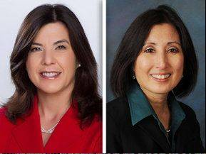 Democrat Anita Alvarez, left, opposes Republican Lori Yokoyama for Cook County state's attorney.