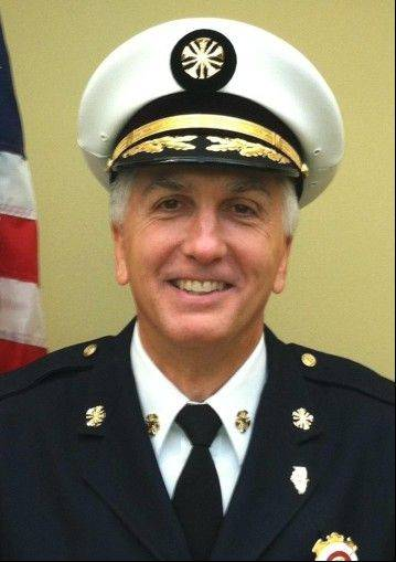Bartlett Fire Chief Michael Falese