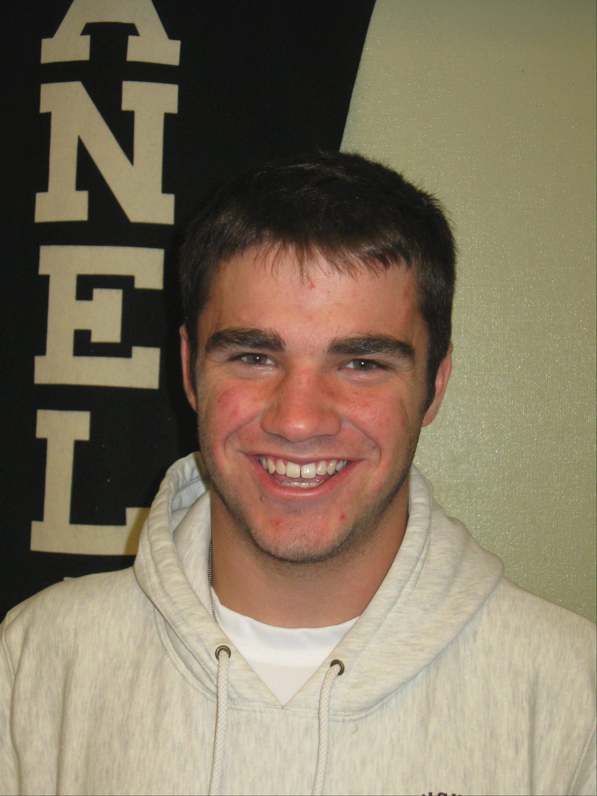 Zack Martinelli, Kaneland football