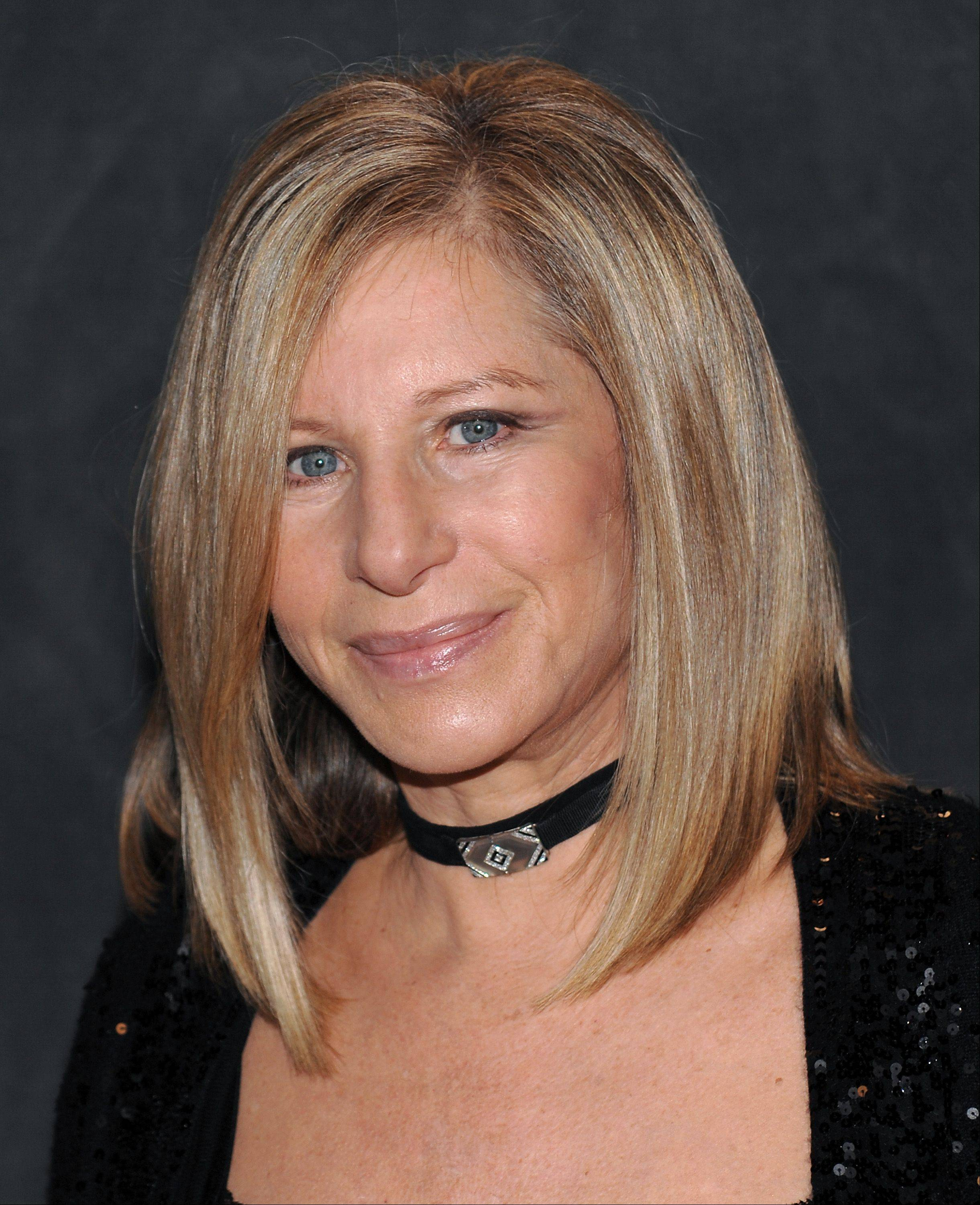 Superstar Barbra Streisand headlines Chicago's United Center on Friday, Oct. 26.