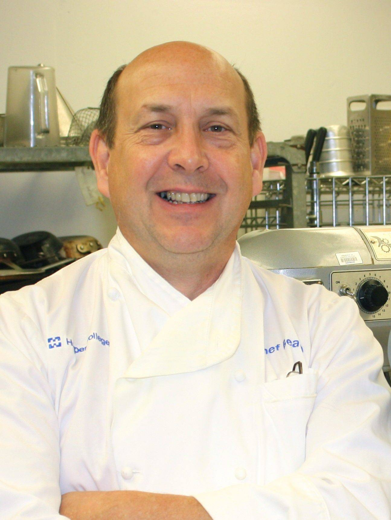 Chef/instructor Patrick Beach