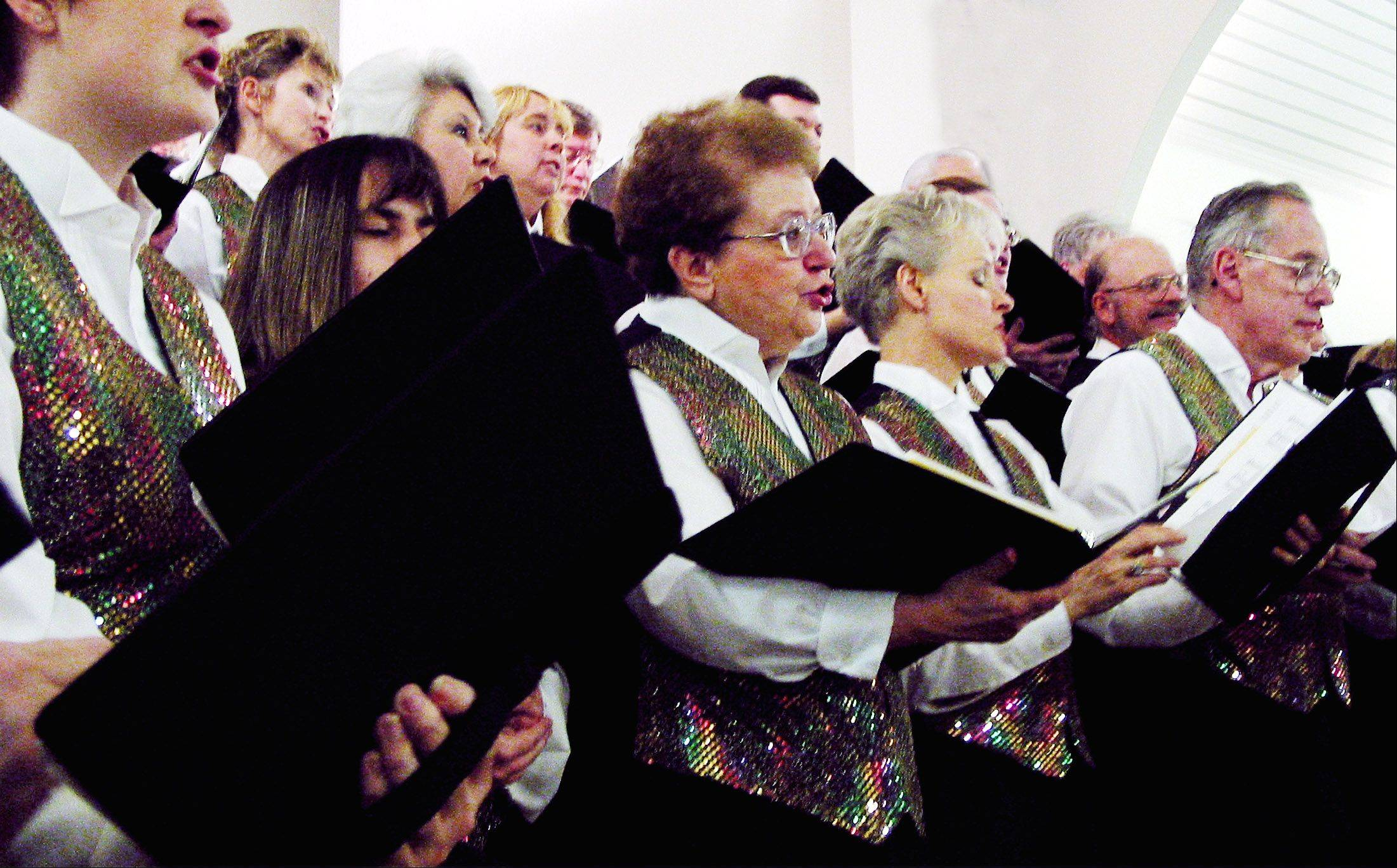 The Spirit Of Life Chorus presents a holiday concert at St. Walter Catholic Church in Roselle.