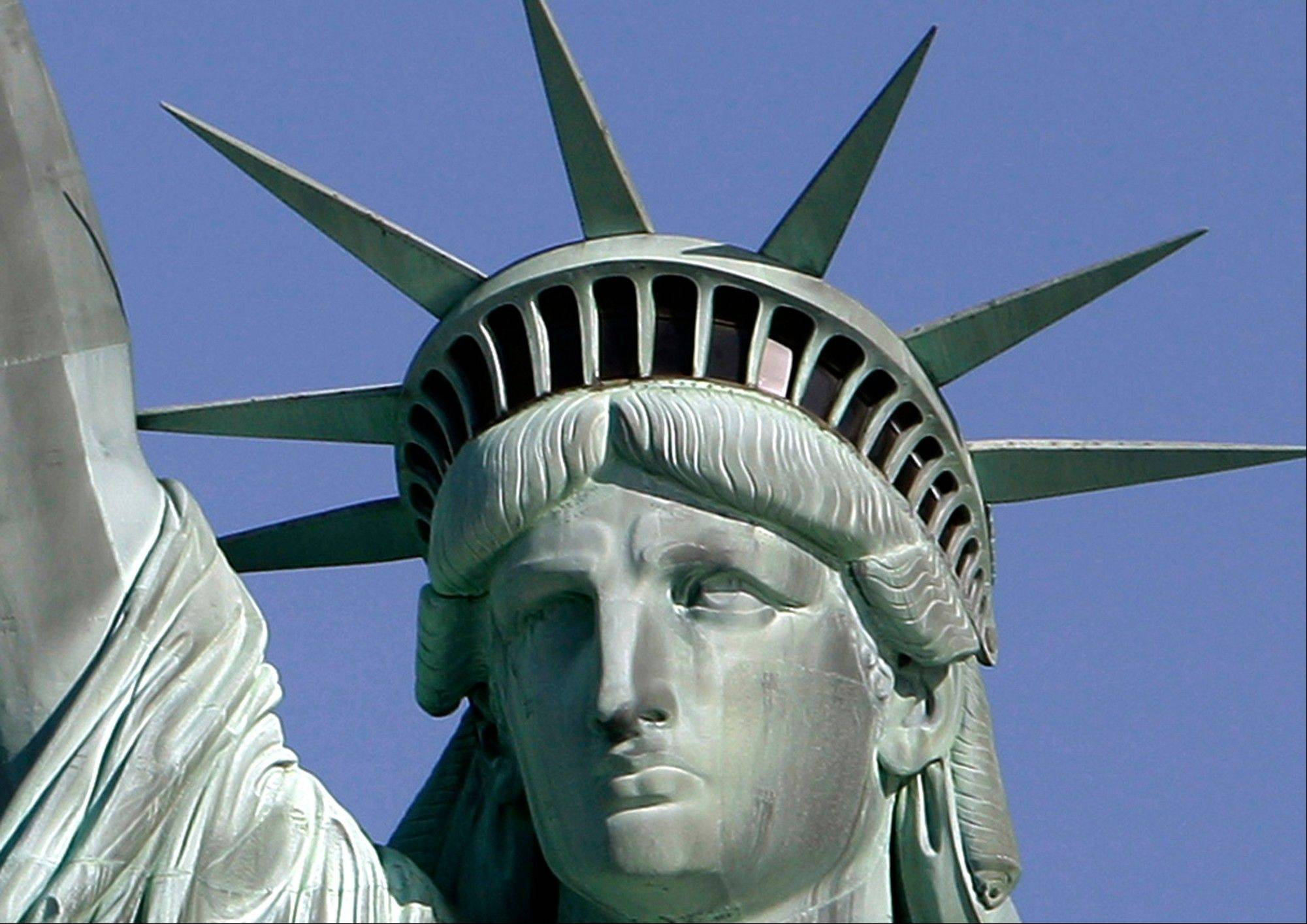 On Sunday, the Statue of Liberty will reopen to the public on the U.S. landmark�s 126th anniversary. The statue has been closed since last October for renovation to its interior, although the public has been allowed to visit its Liberty Island grounds.