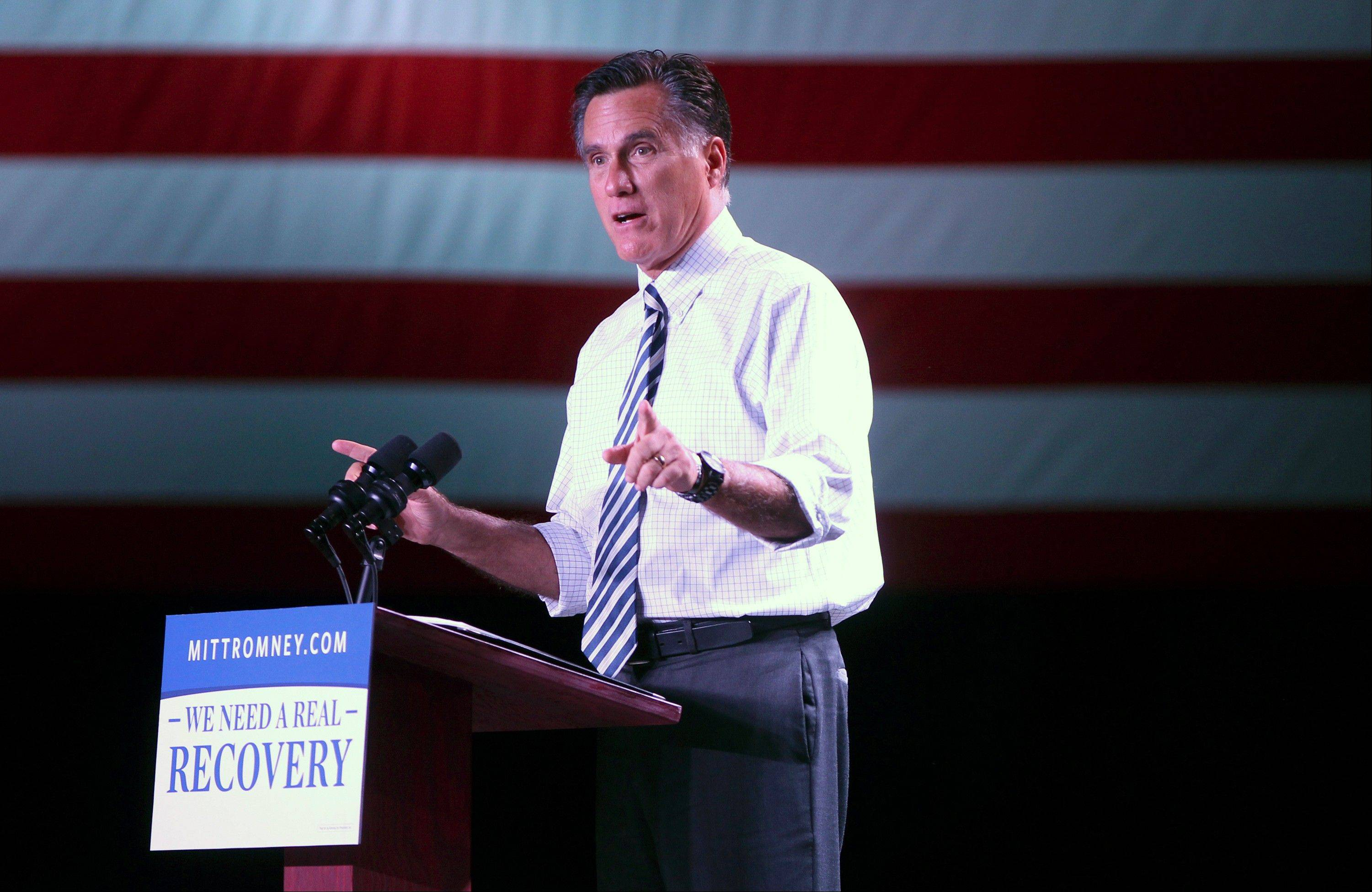AP poll: Romney erases Obama advantage among women