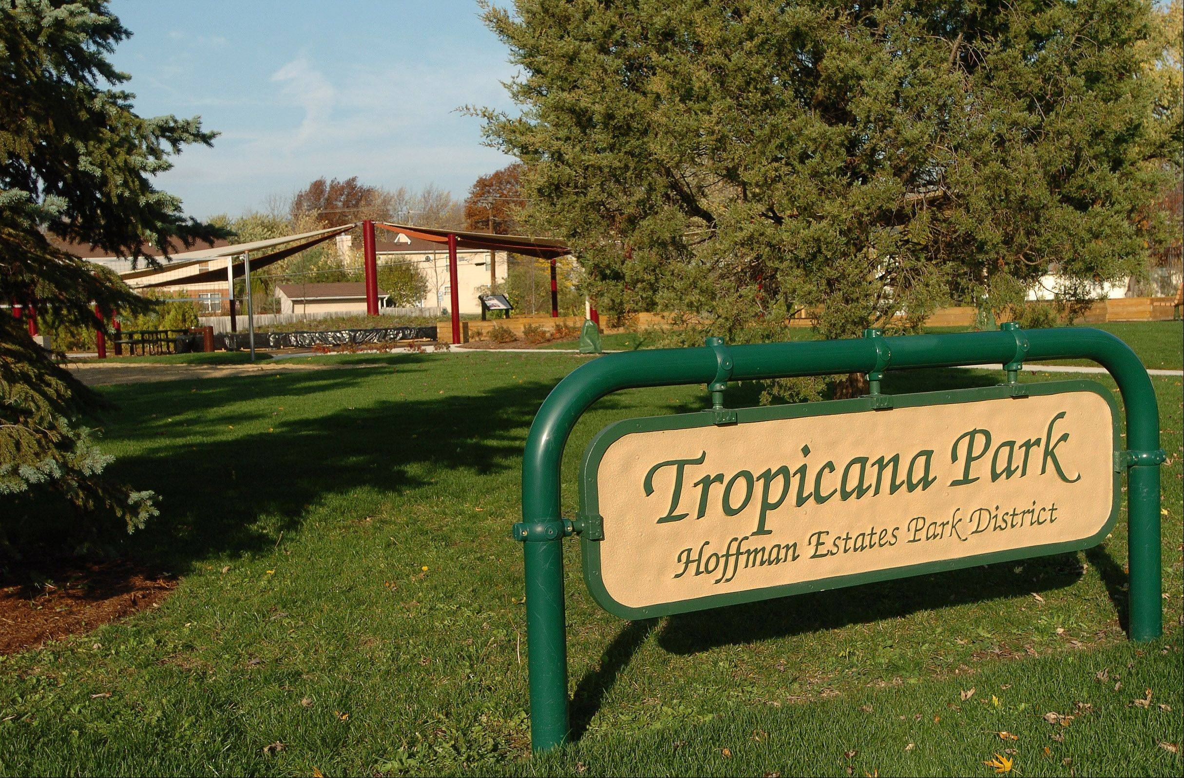 This is Tropicana Park in Hoffman Estates, built after a swim club donated property it could no longer maintain.