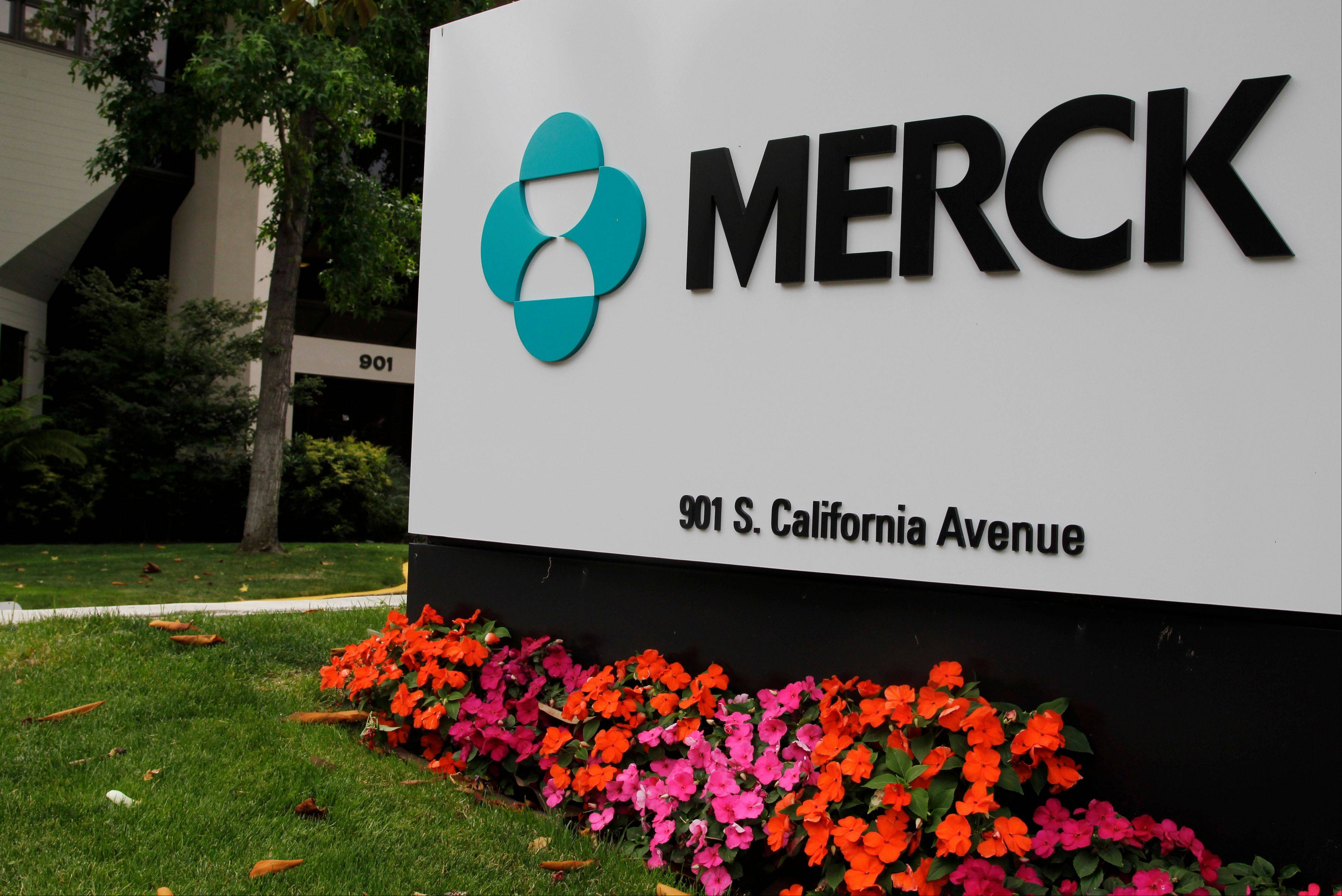 Drugmaker Merck & Co. said Friday, Oct. 26, 2012 that third-quarter profit rose 2 percent as reduced spending on overhead offset lower sales due to new generic competition for its top-selling drug. The company beat Wall Street's profit expectations and narrowed its 2012 profit forecast, to a range of $2.08 to $2.24 per share, from its July forecast of $2.04 to $2.30.