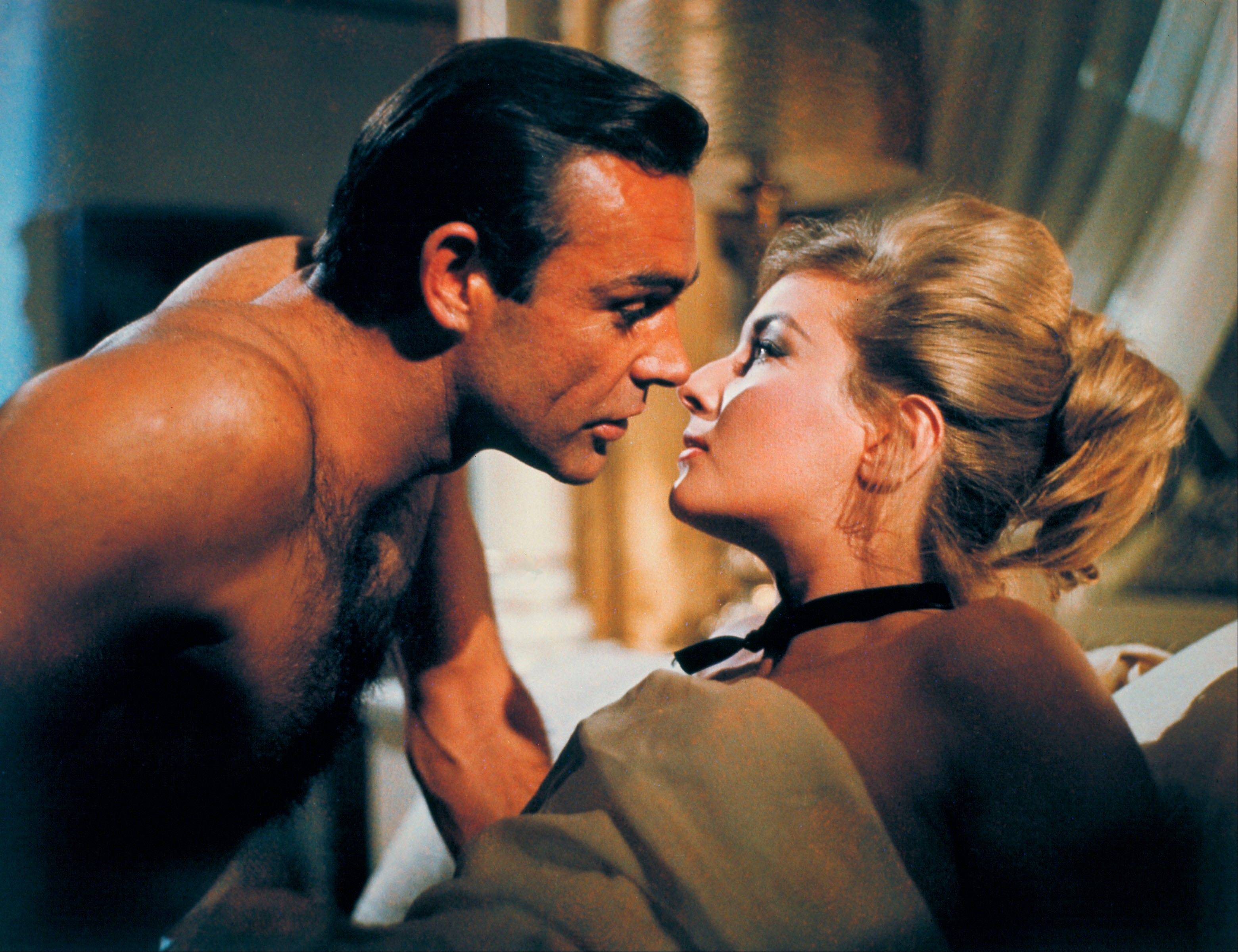 "Sean Connery plays James Bond for the second time in 1963's ""From Russia With Love."""
