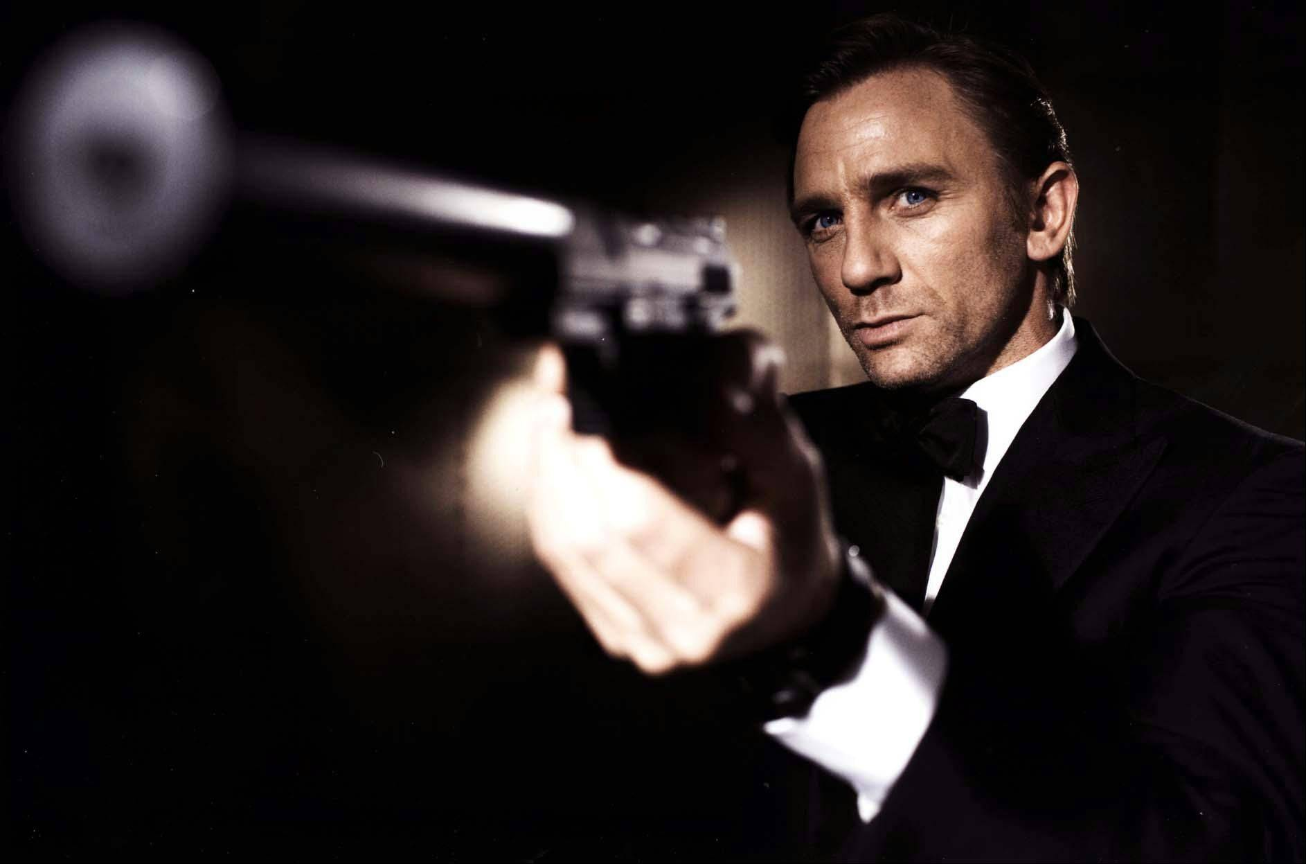 "Daniel Craig is the latest actor to step into the James Bond role. He made his 007 debut in ""Casino Royale."""