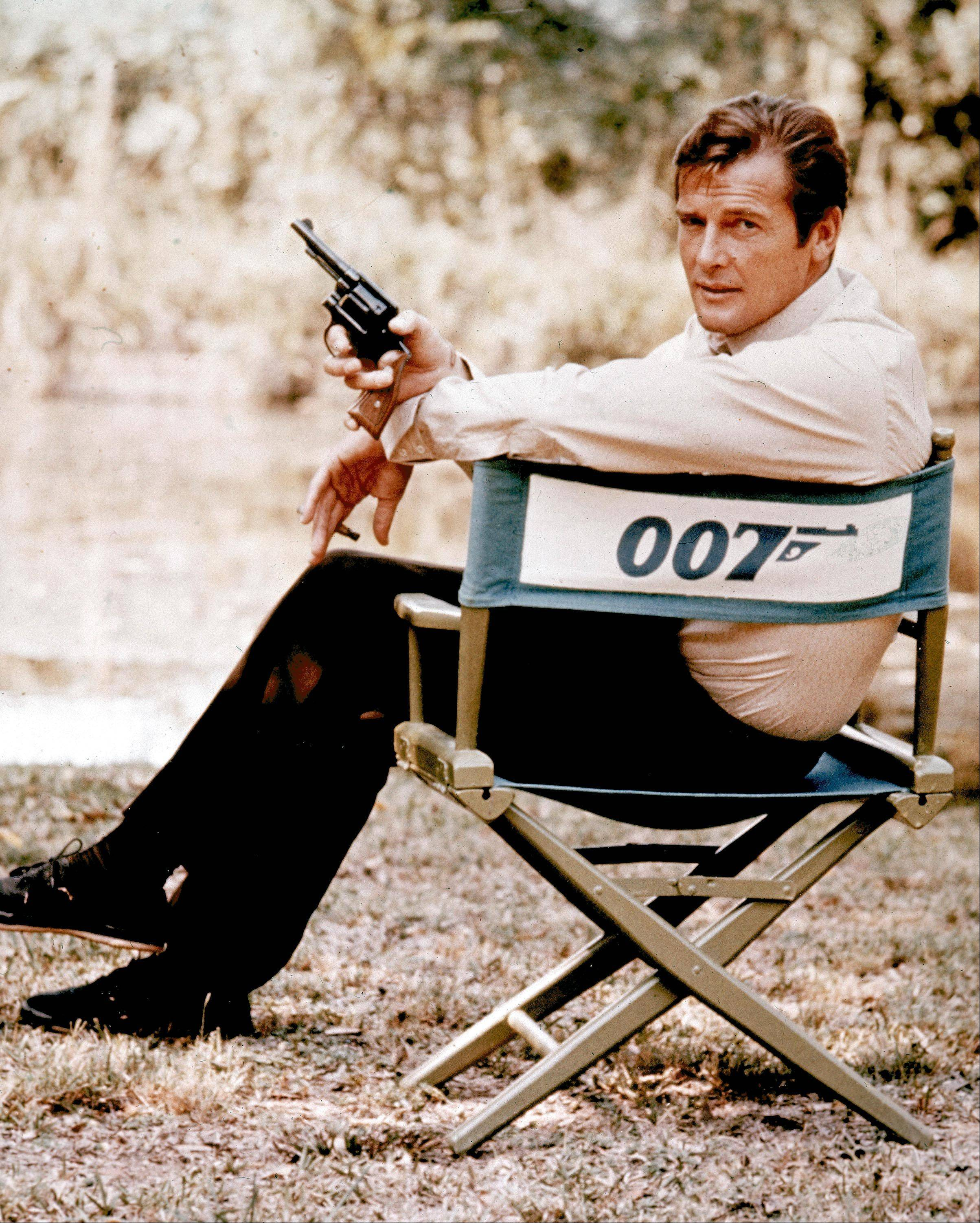 British actor Roger Moore tied Sean Connery for playing James Bond in seven 007 adventures.