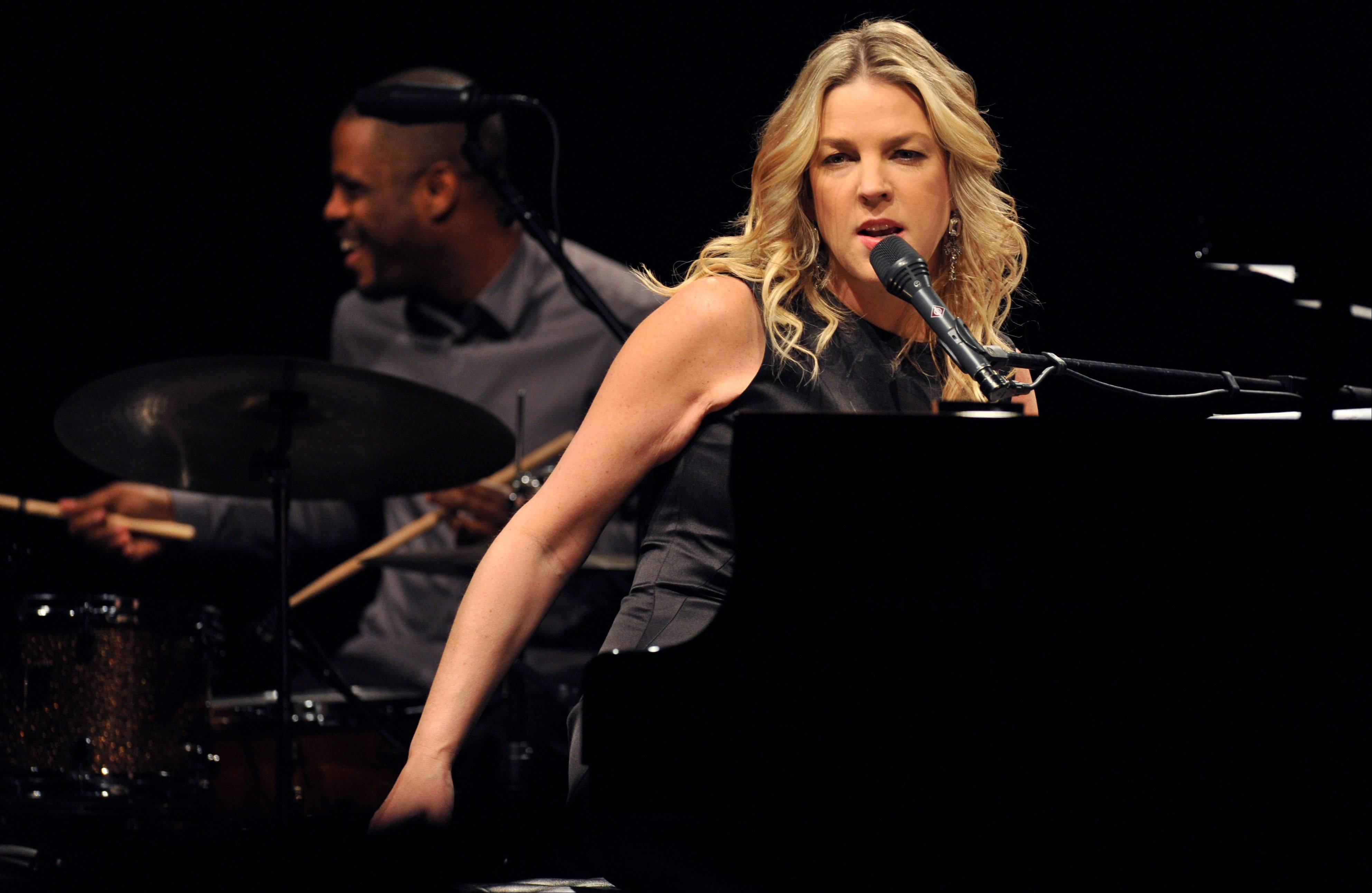 "Canadian jazz pianist and singer Diana Krall says she felt reinvigorated making her new CD ""Glad Rag Doll."""