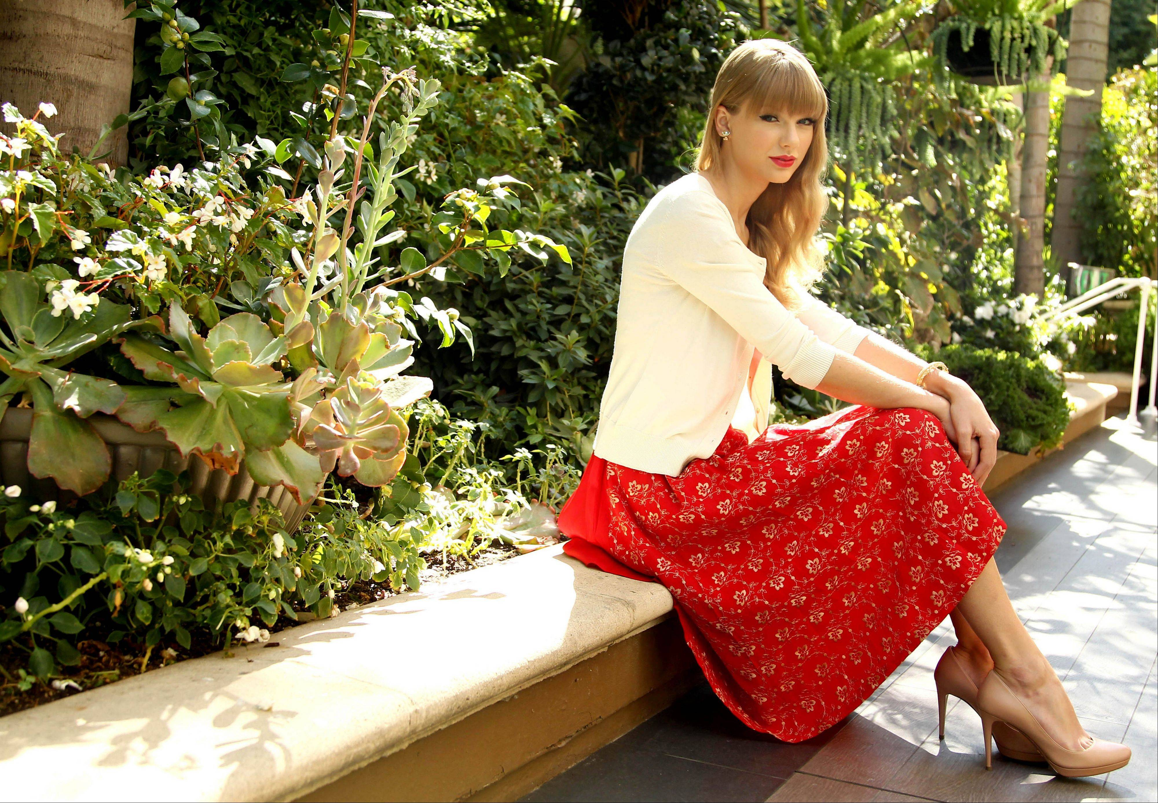 "Taylor Swift branched out and worked with musicians she admired for ""Red,"" her latest album."