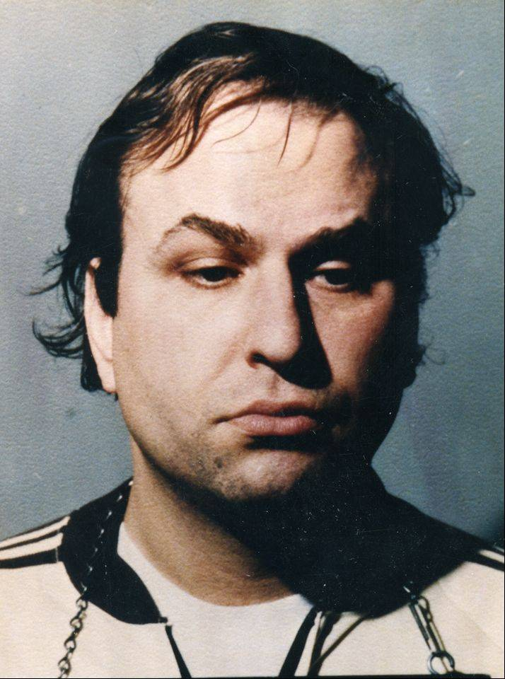 The 1985 booking photo of Steven Mandell, then known as Steven Manning.