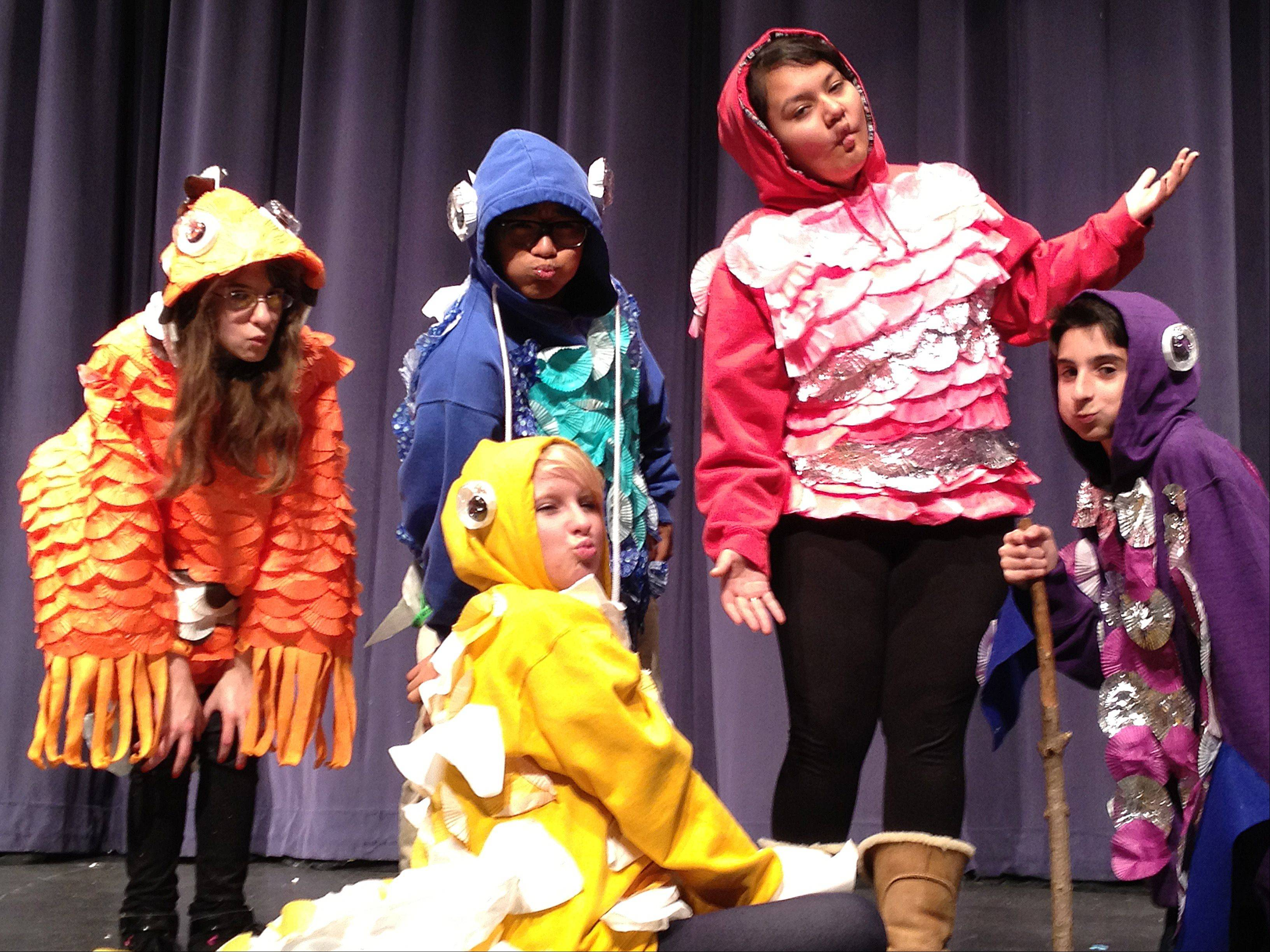 "South Elgin High School's ""The Lorax"" is an original production. Drama teacher Holly McNeill could not find a stage adaptation of the story, so she wrote the script herself."