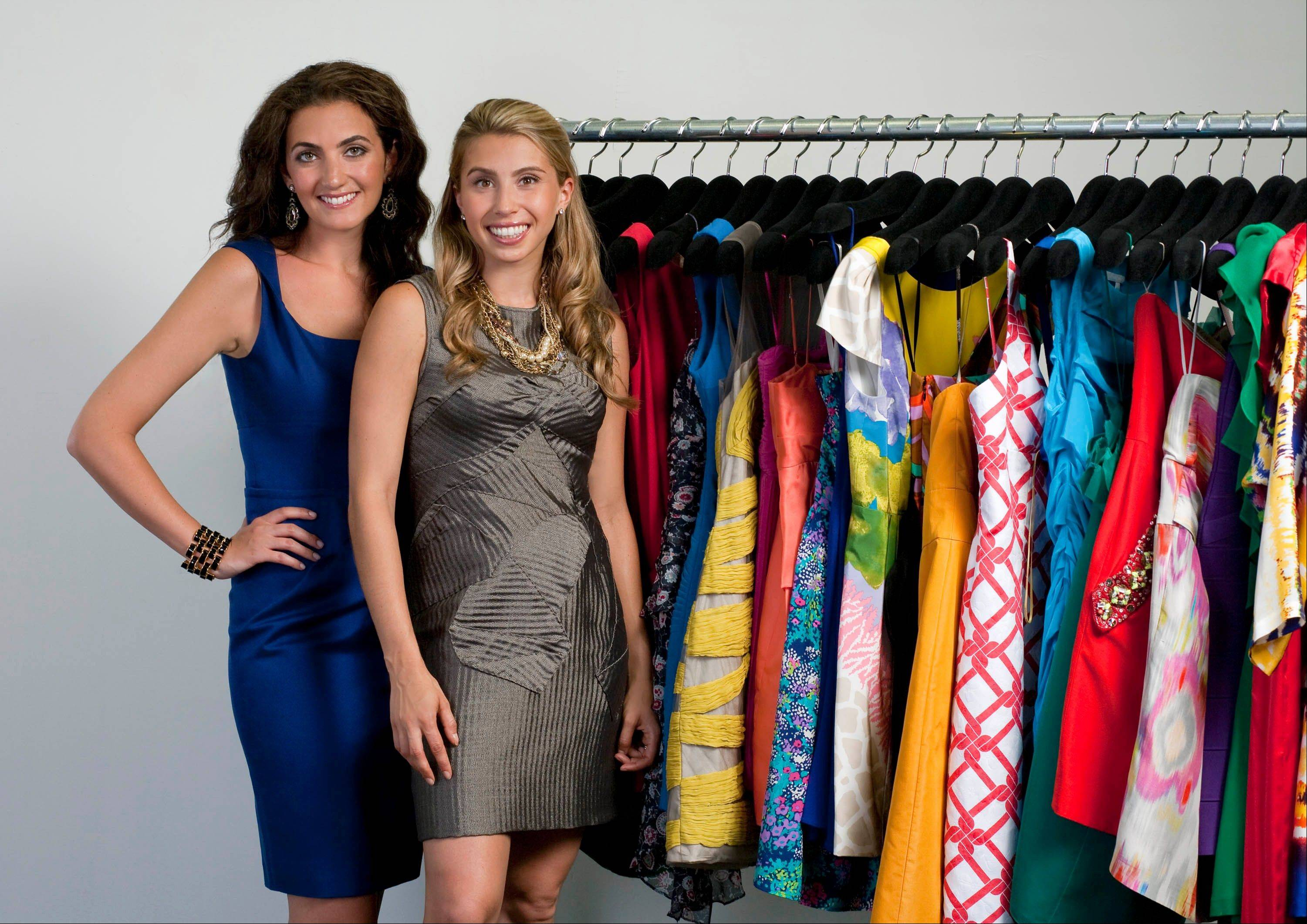 CEO and co-founder of Rent the Runway Jennifer Hyman, left, and co-founder Jenny Fleiss run an online company that allows consumers to borrow, for a fee, designer clothes and accessories.