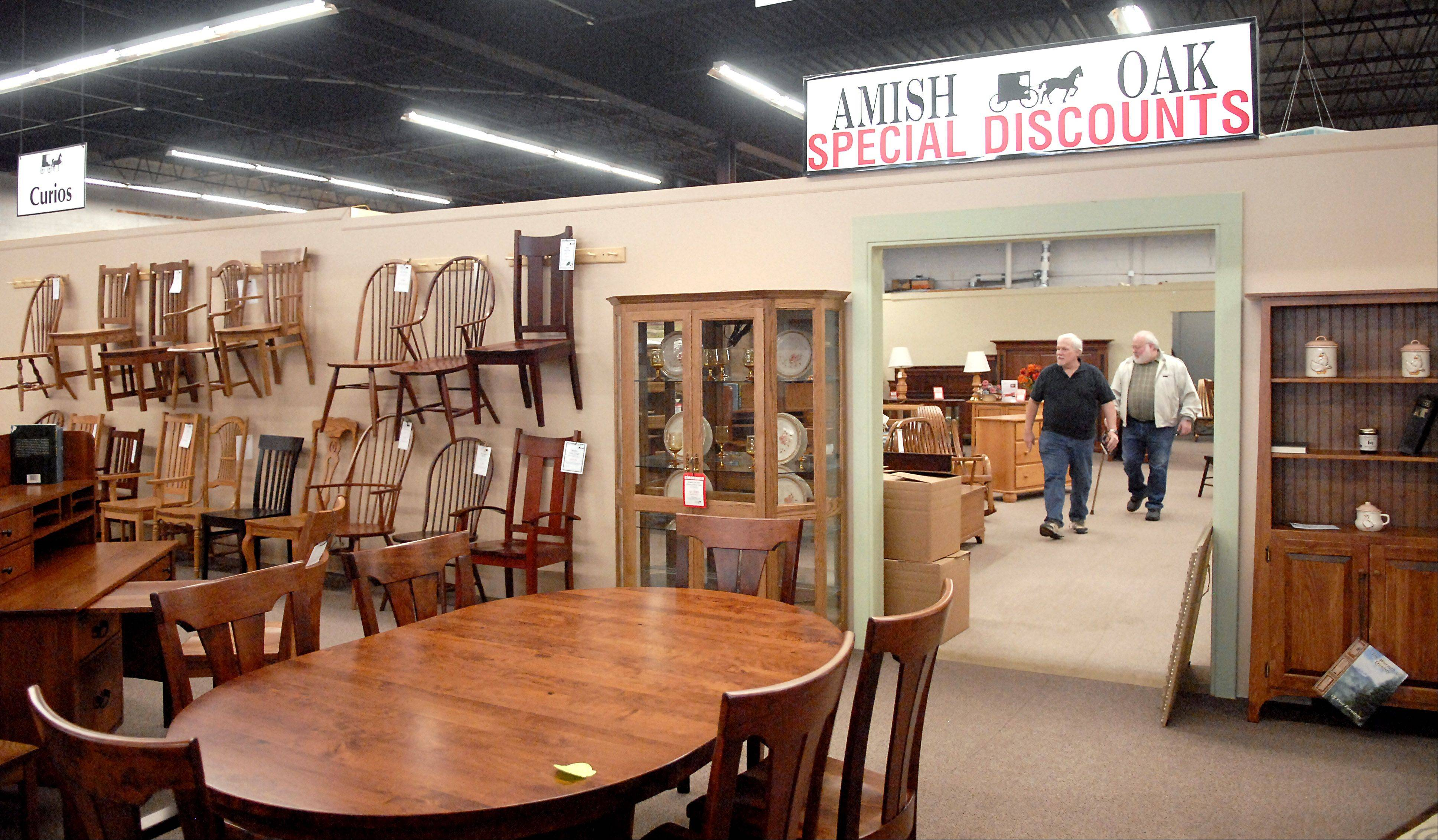 Burress Amish Furniture At 663 Villa St. In Elgin Has Been In Business  Since 1983